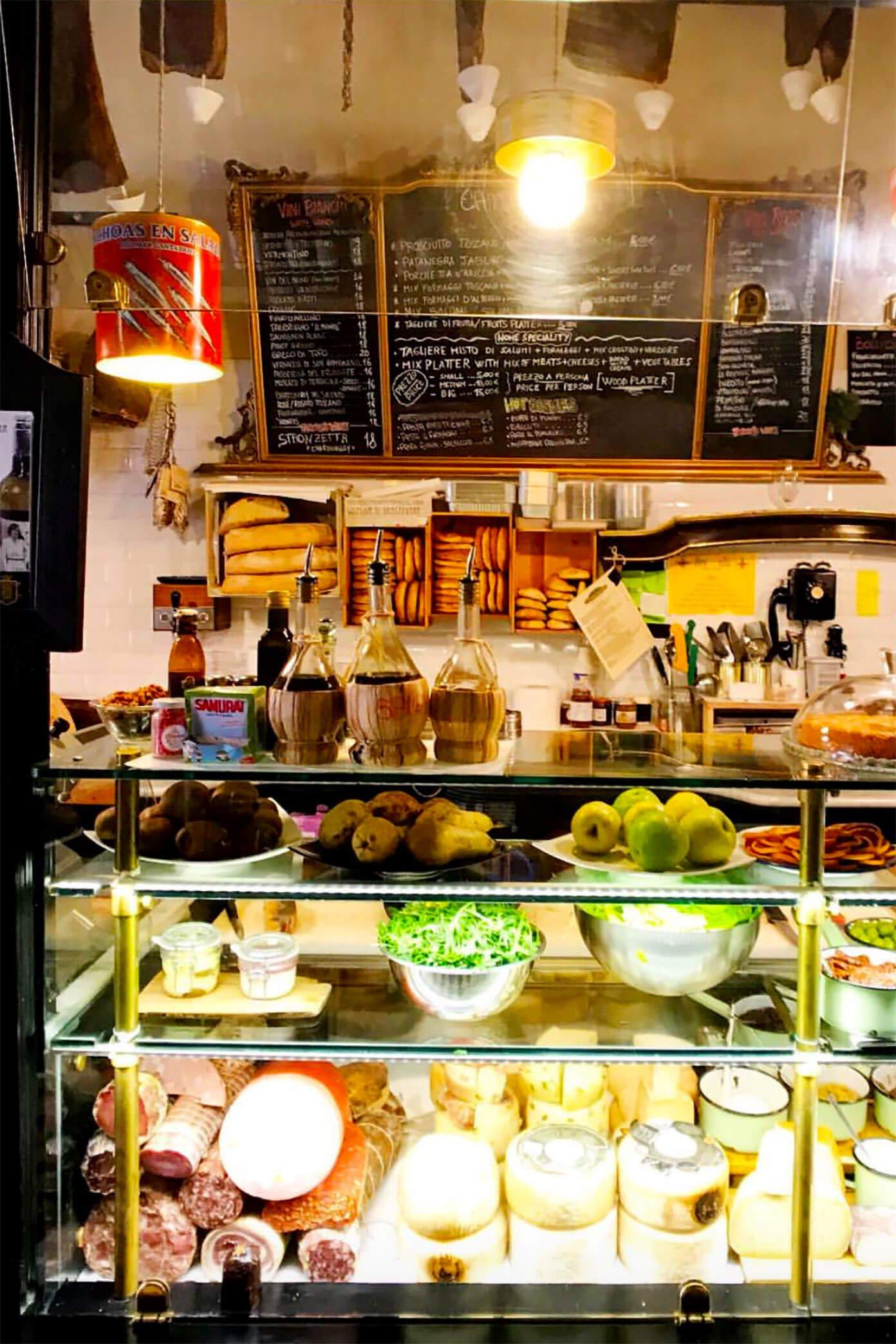 Prosciutteria Trastevere Restaurant in Rome
