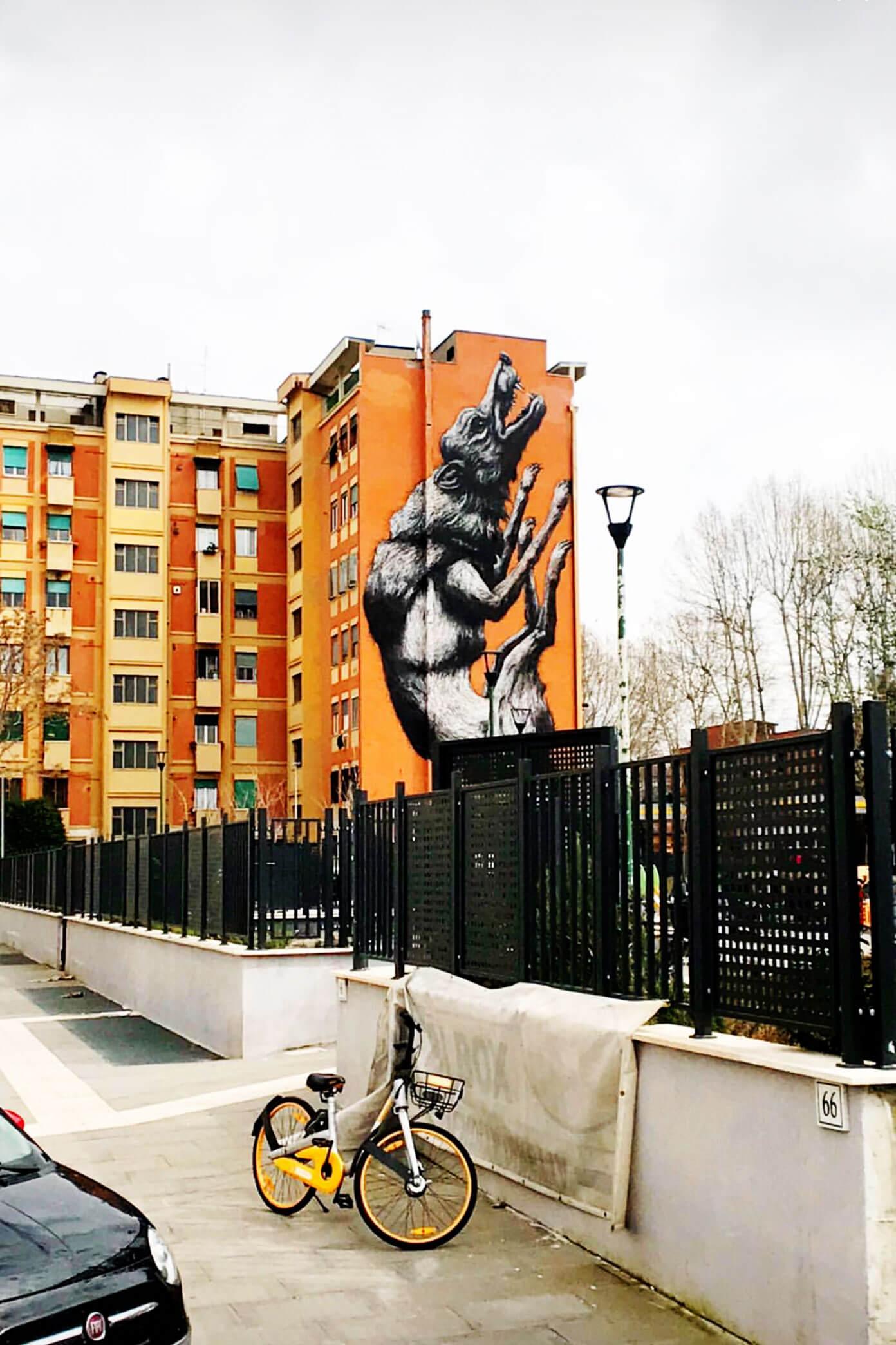 Testaccio Neighborhood in Rome