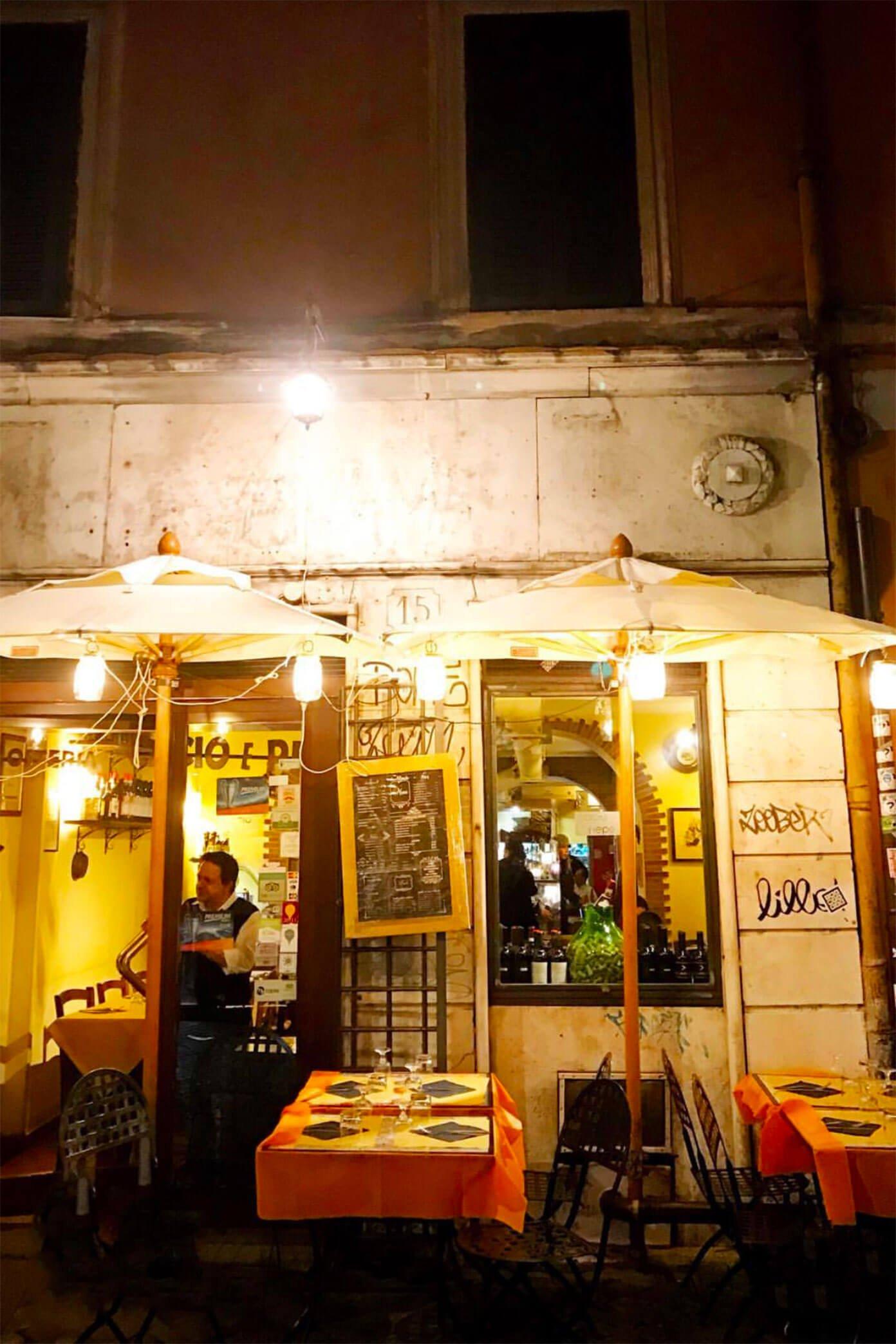 Bistro in Rome