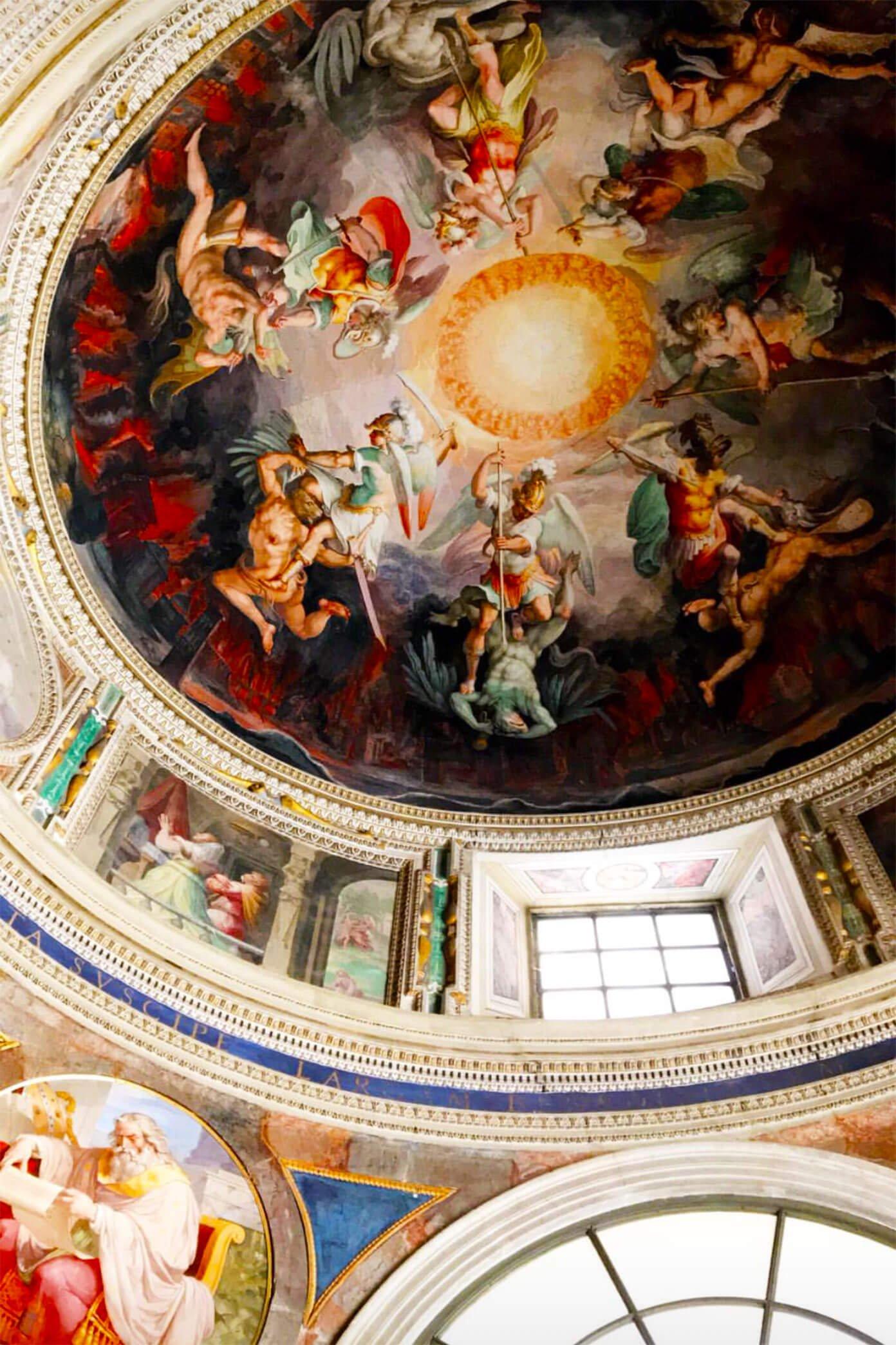Vatican Museum Art in Rome