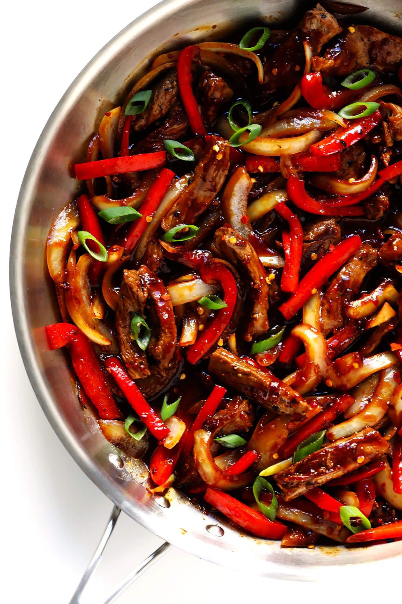Sizzlin' Spicy Szechuan Stir-Fry