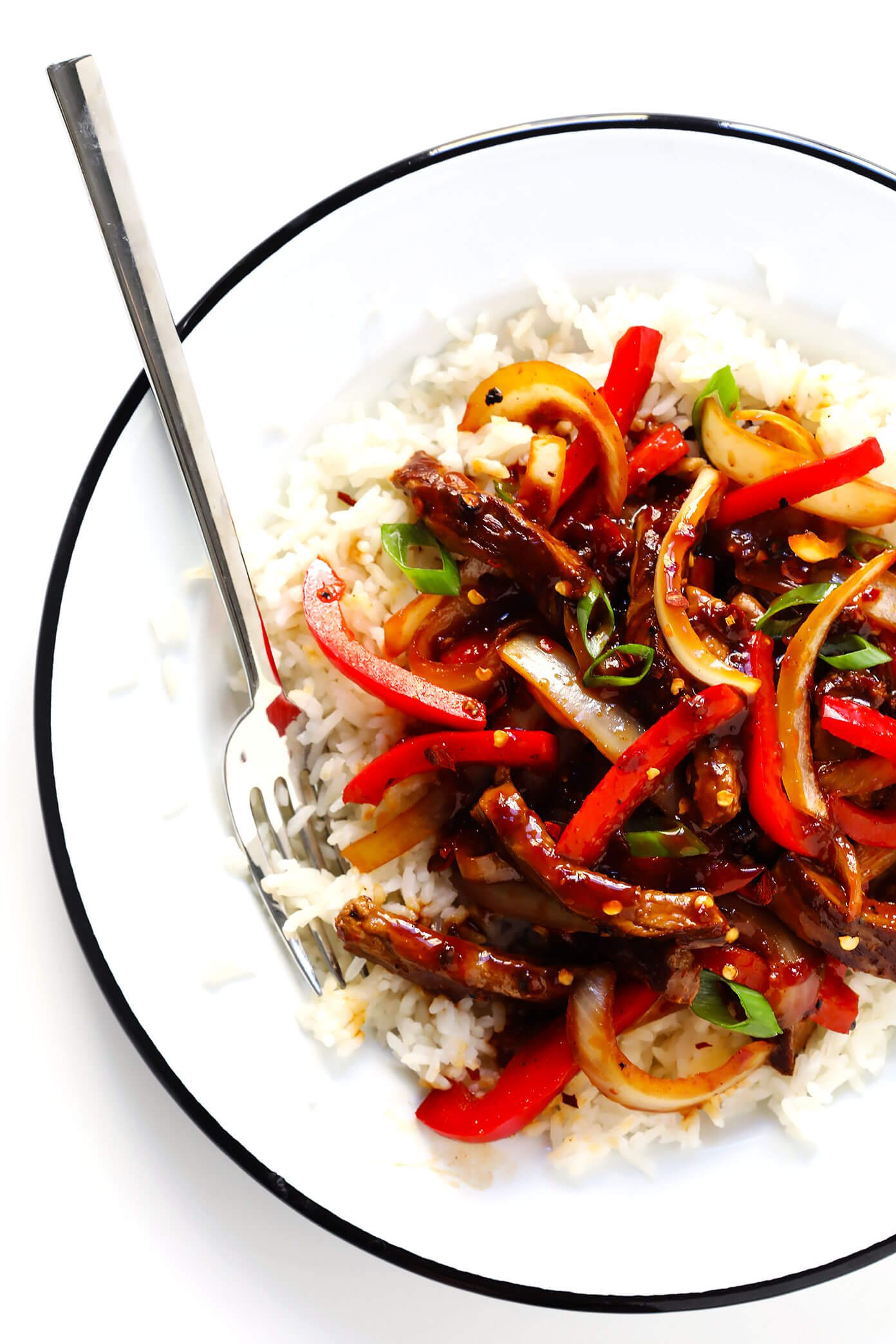 Sizzlin' Spicy Szechuan Stir-Fry with Steak