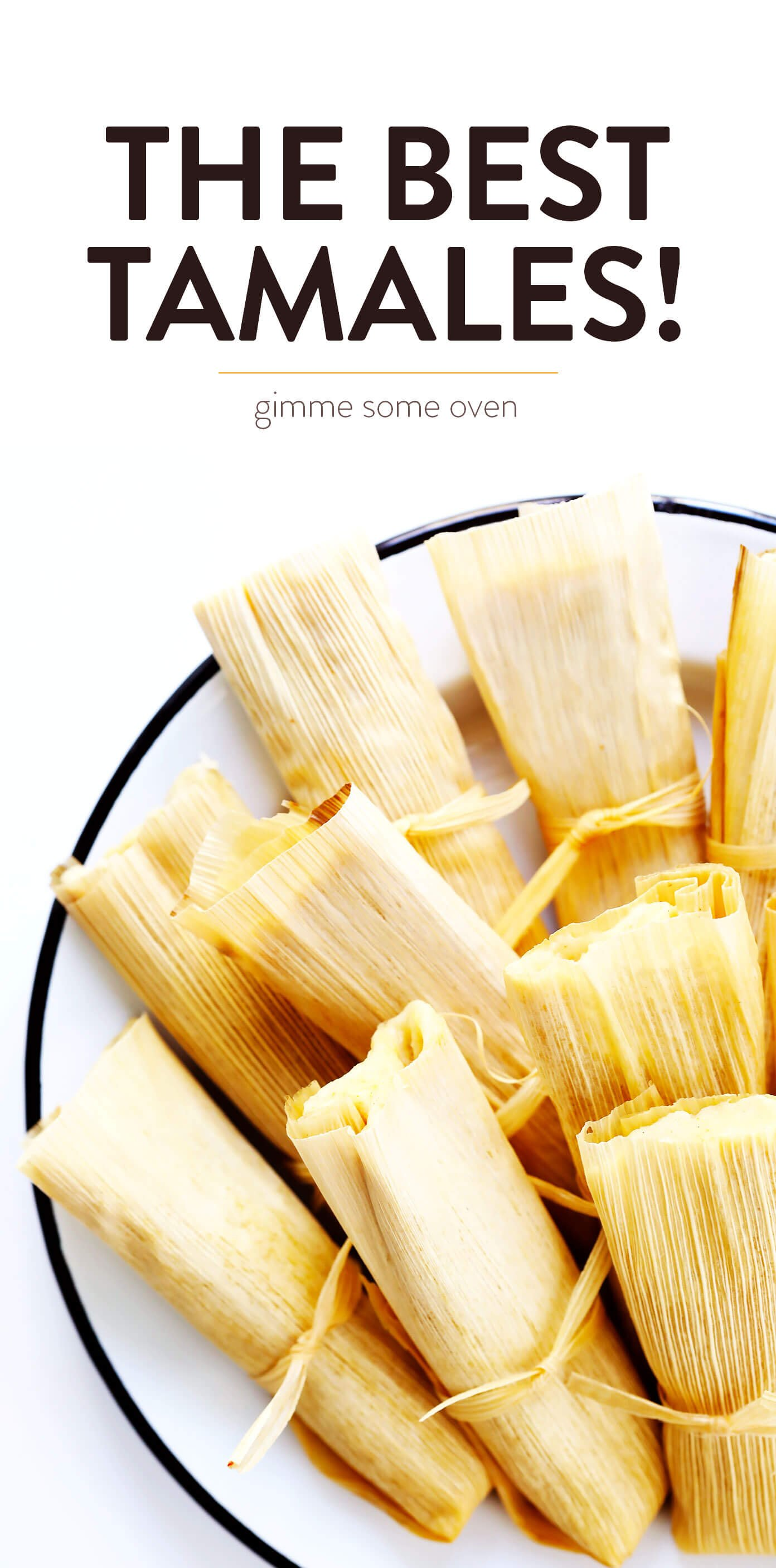 The BEST Tamales Recipe!