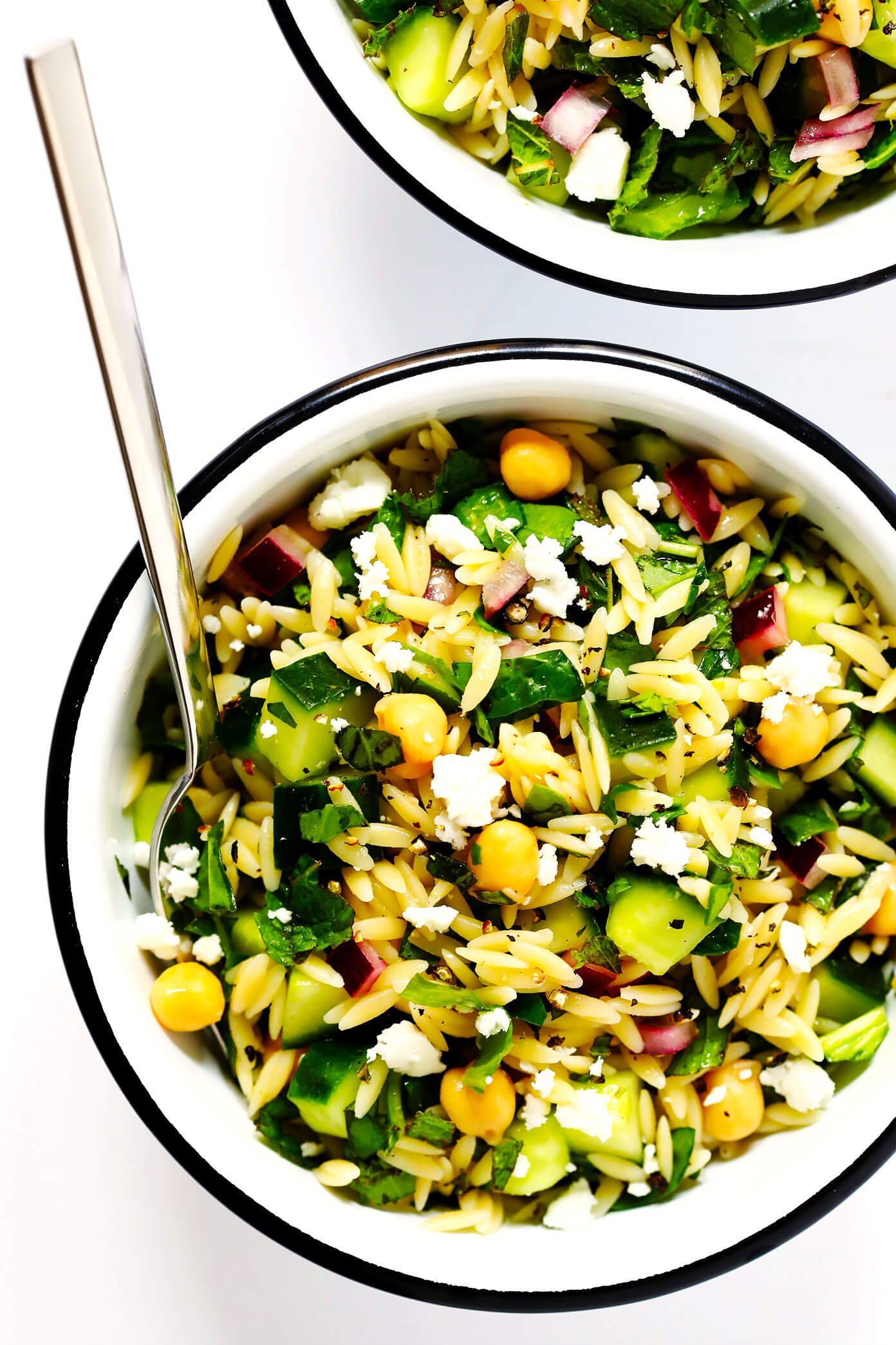 Herb Lovers Lemony Orzo Salad Recipe