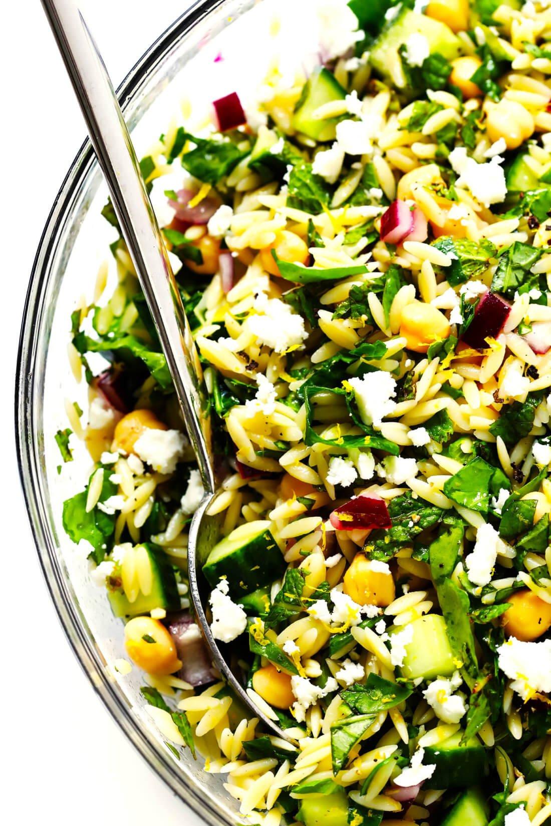 Herb Lovers Lemon Orzo Salad