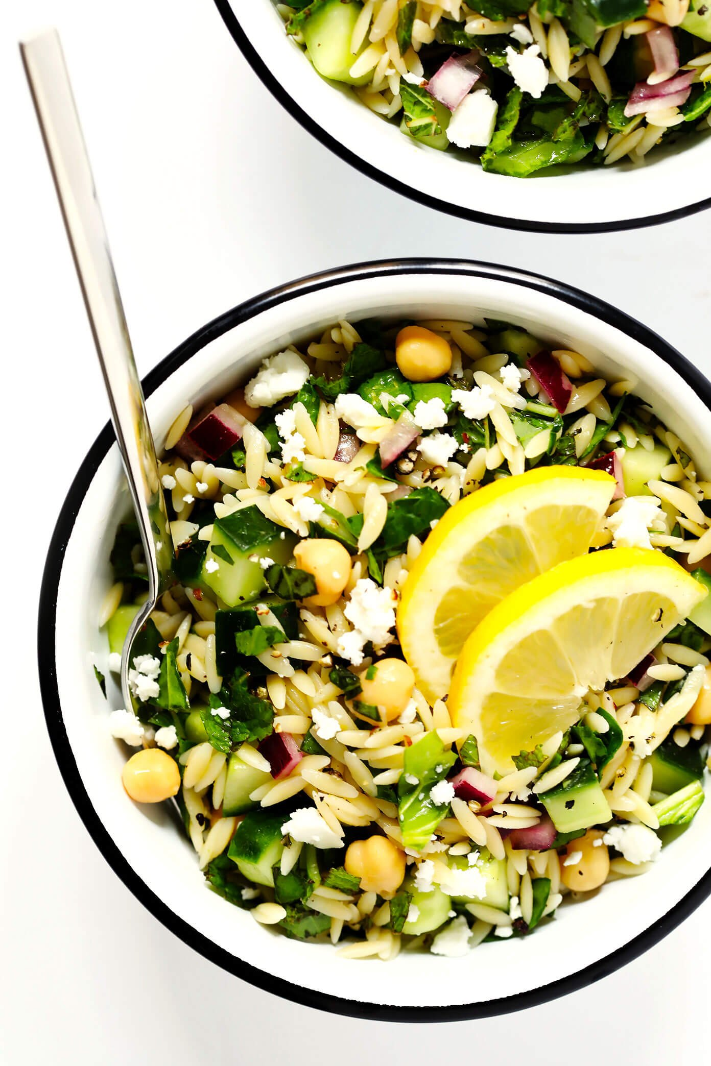 How To Make A Lemony Orzo Pasta Salad