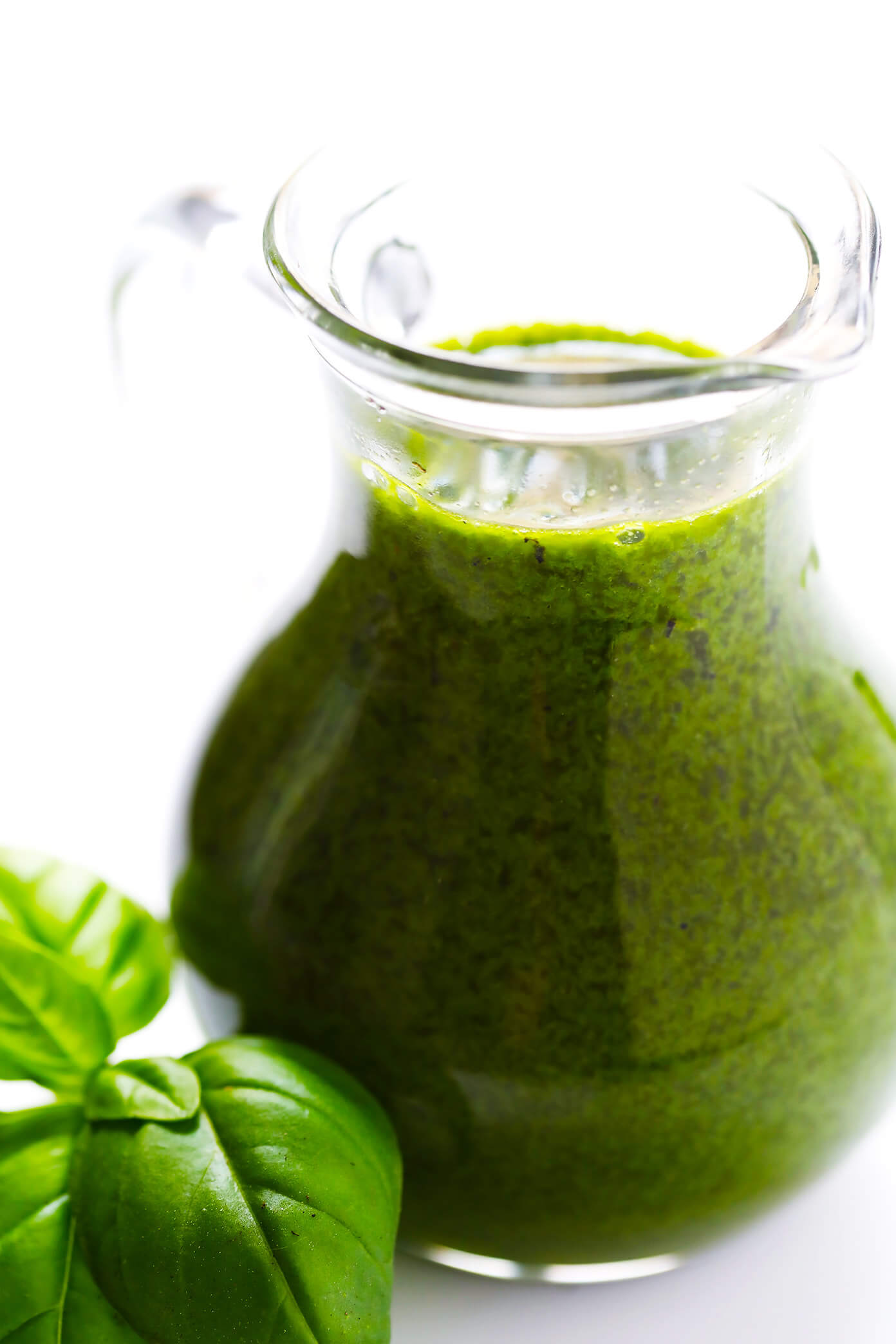 Basil Vinaigrette for Strawberry Burrata Salad