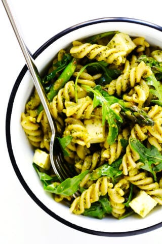 Gimme some oven celebrating delicious and easy recipes pistachio pesto pasta salad forumfinder Choice Image