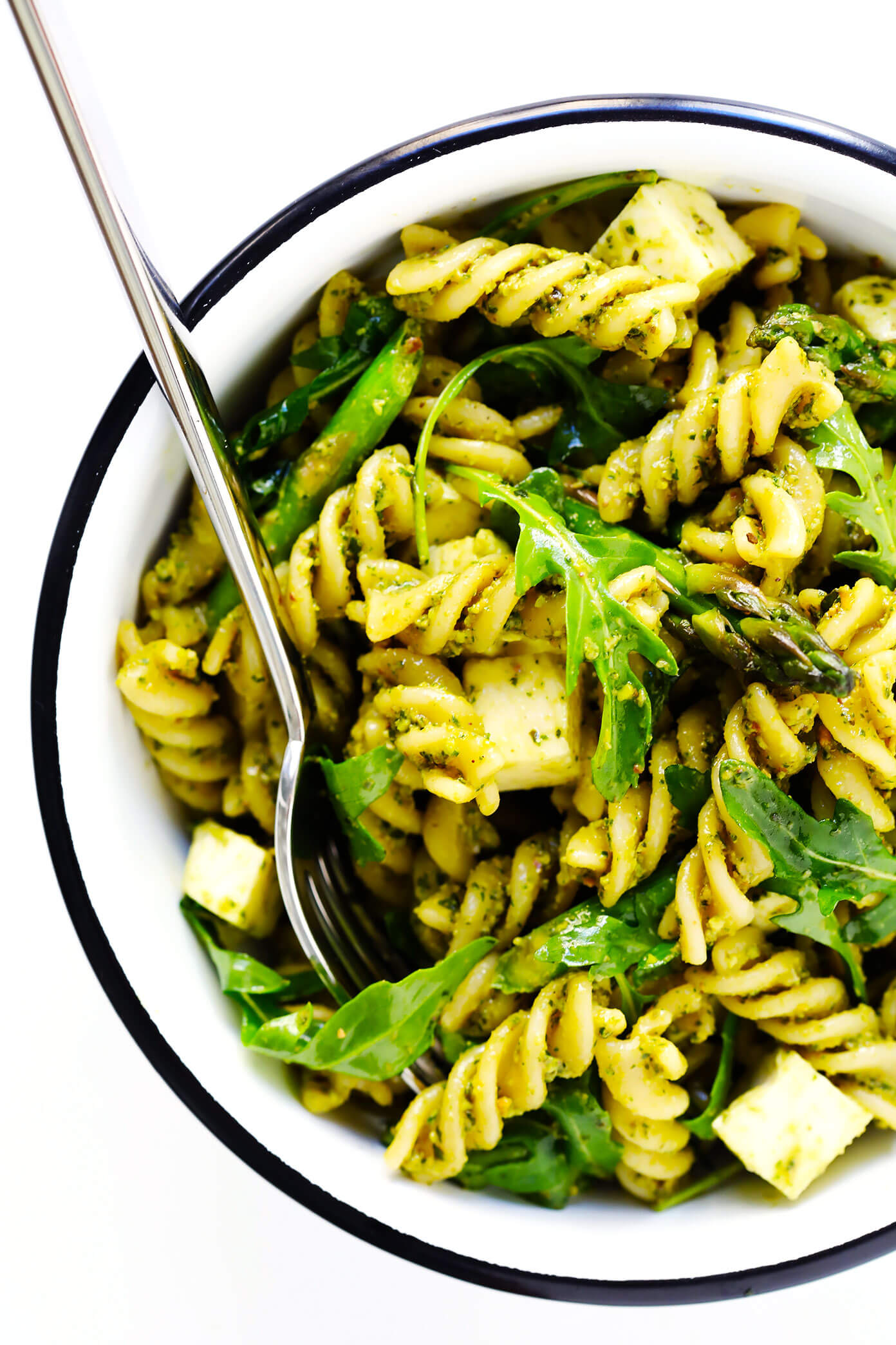 Pistachio Pesto Pasta Salad Recipe