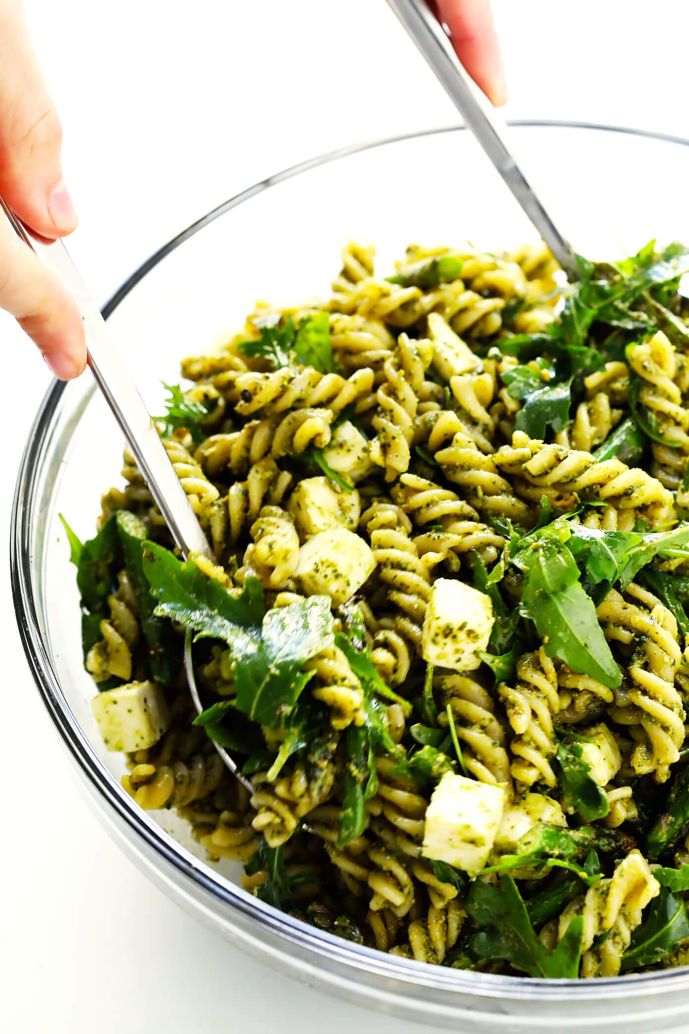 How To Make Pistachio Pesto Pasta Salad