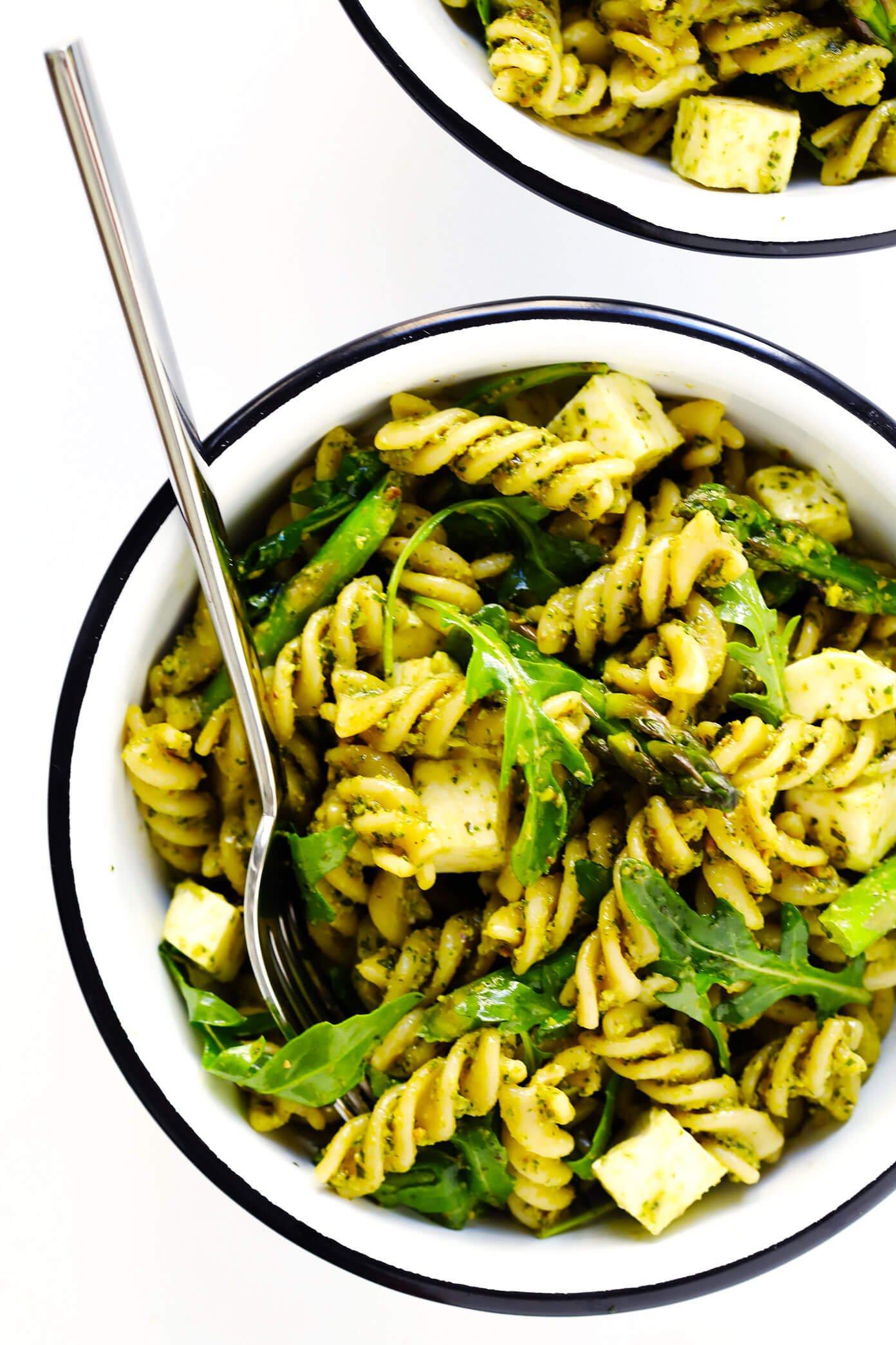 The Best Pistachio Pesto Pasta Salad Recipe!