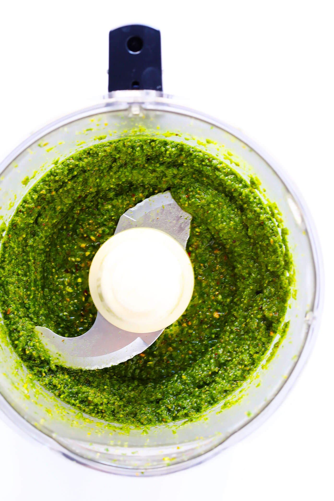 Pistachio Pesto Sauce