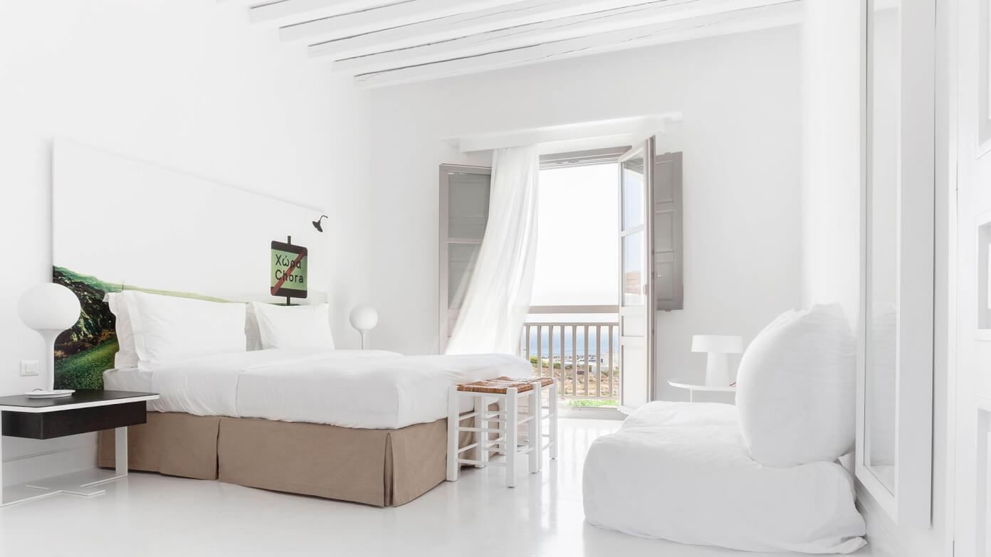 Beautiful Anemi Hotel Rooms in Folegandros, Greece