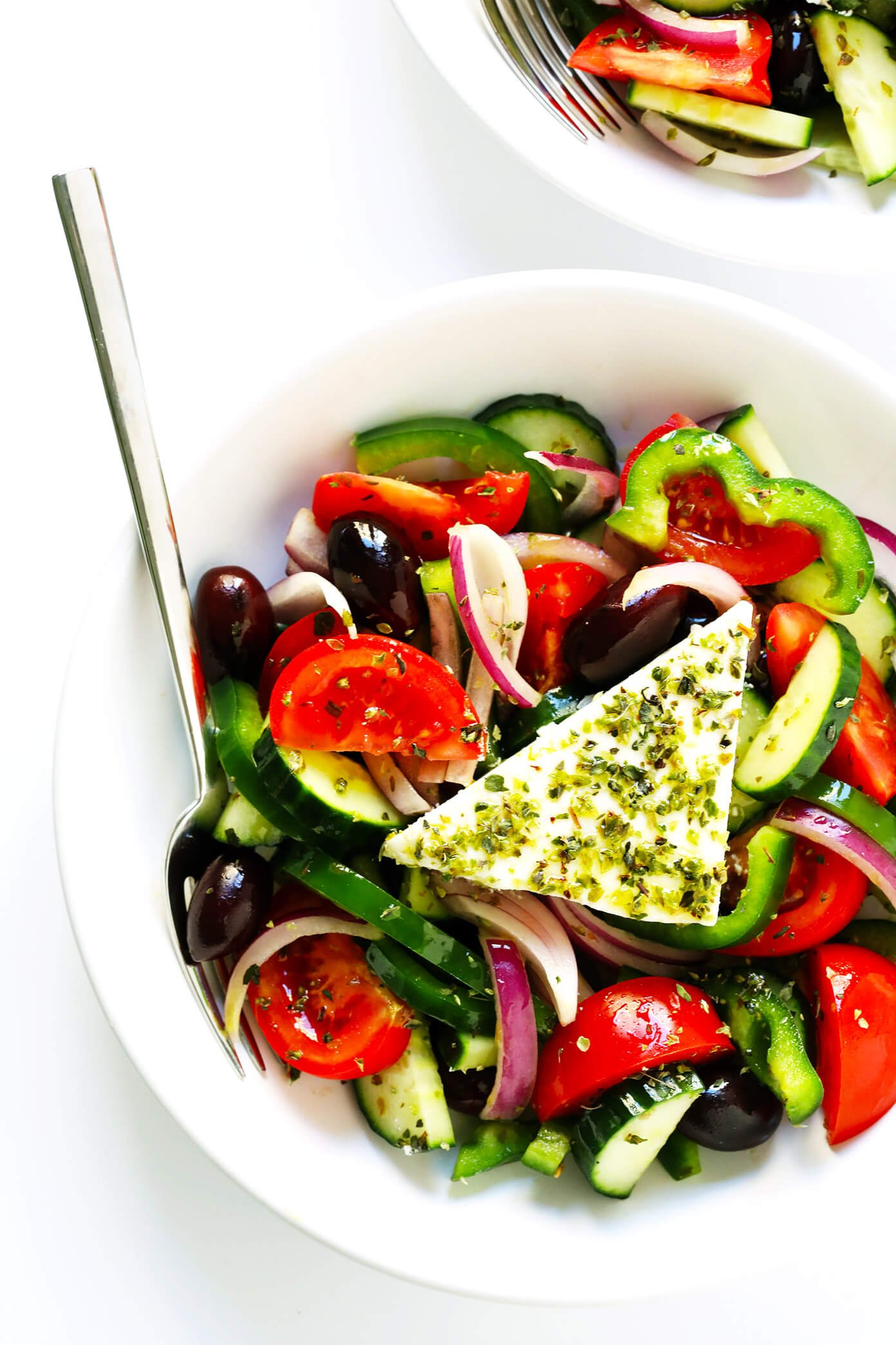 The BEST Greek Salad Recipe