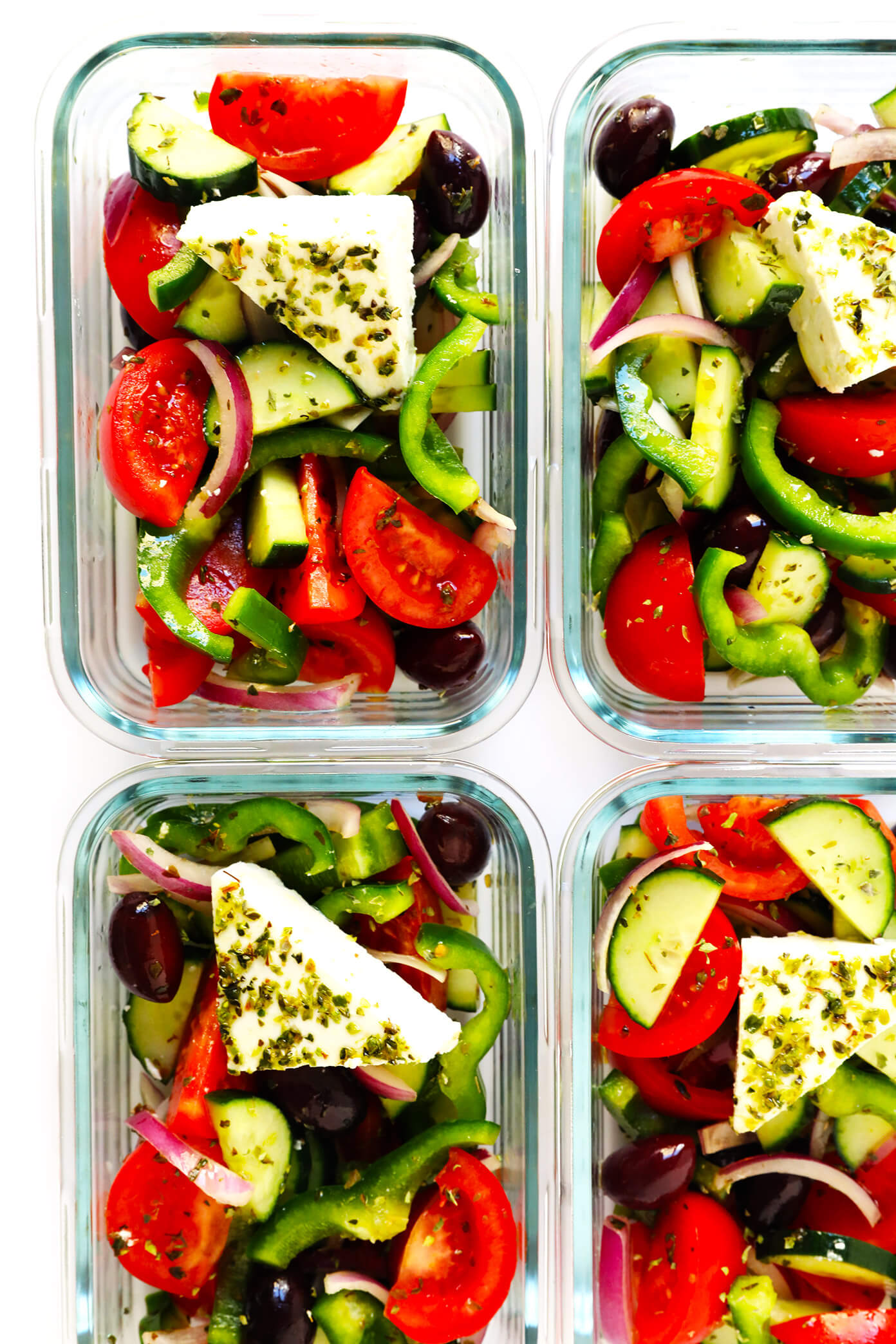 Greek Salad Recipe Meal Prep