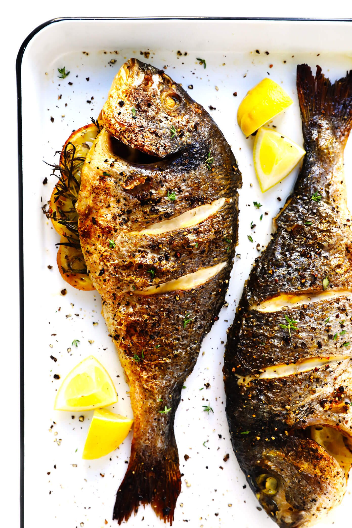 How to cook a whole fish gimme some oven for Fish in oven