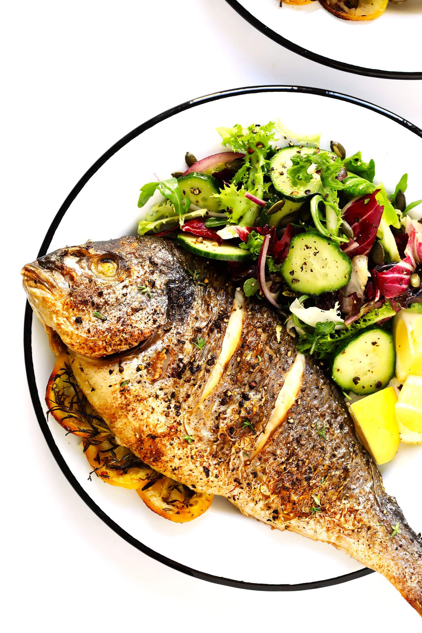 How To Make Whole Fish In The Oven -- a step by step tutorial