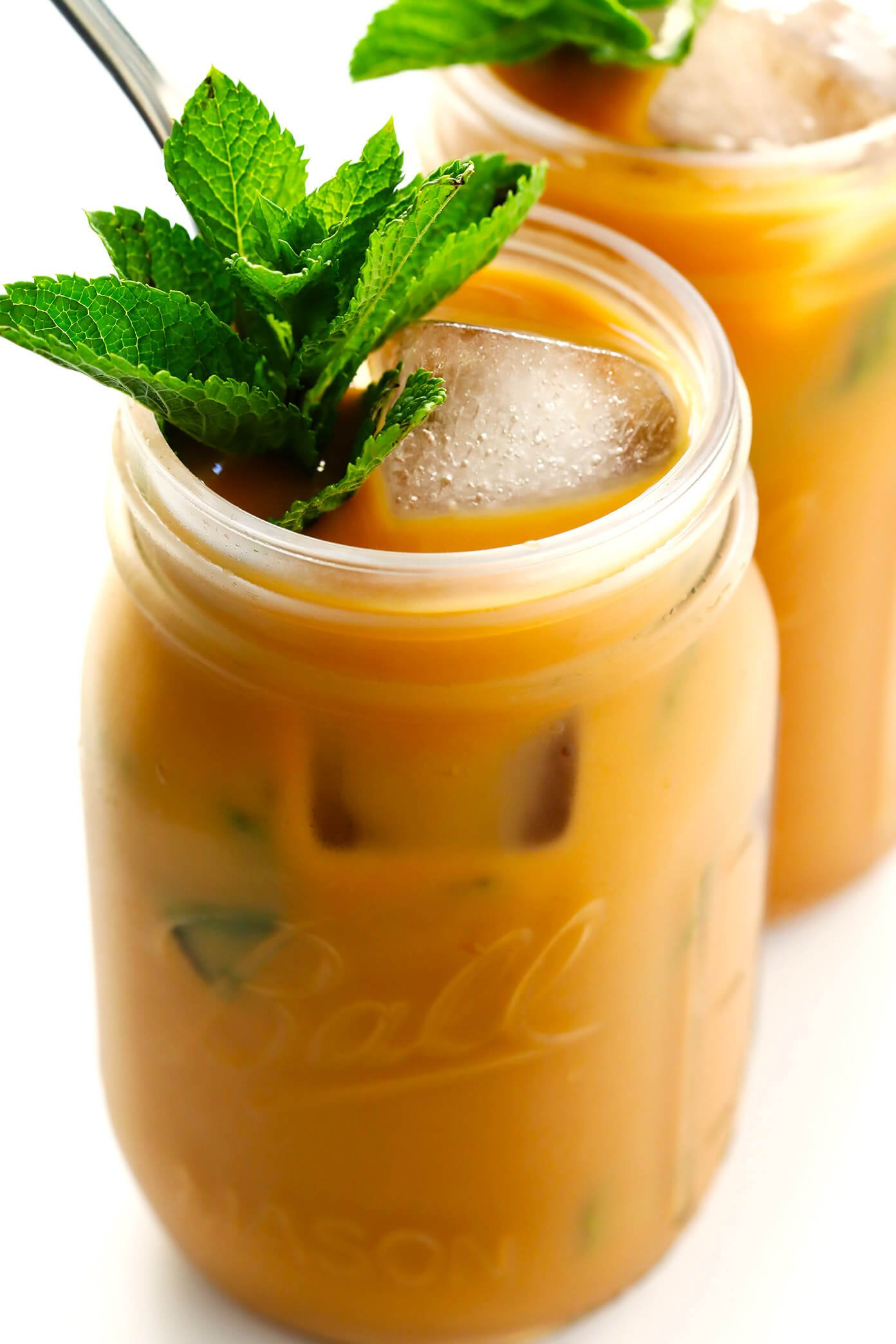 Perfect Mint Mojito Iced Coffee
