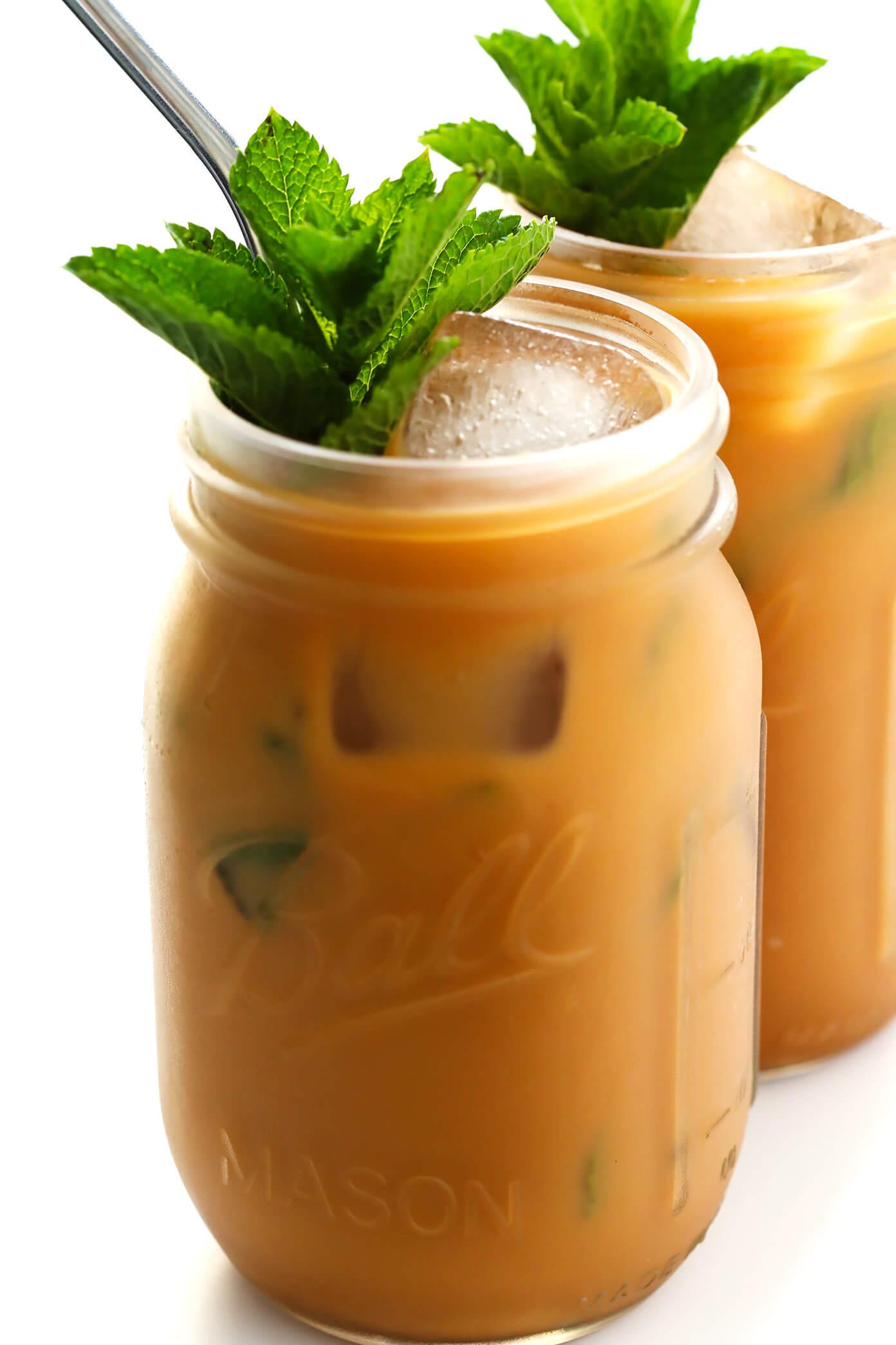 How To Make Mint Mojito Iced Coffee