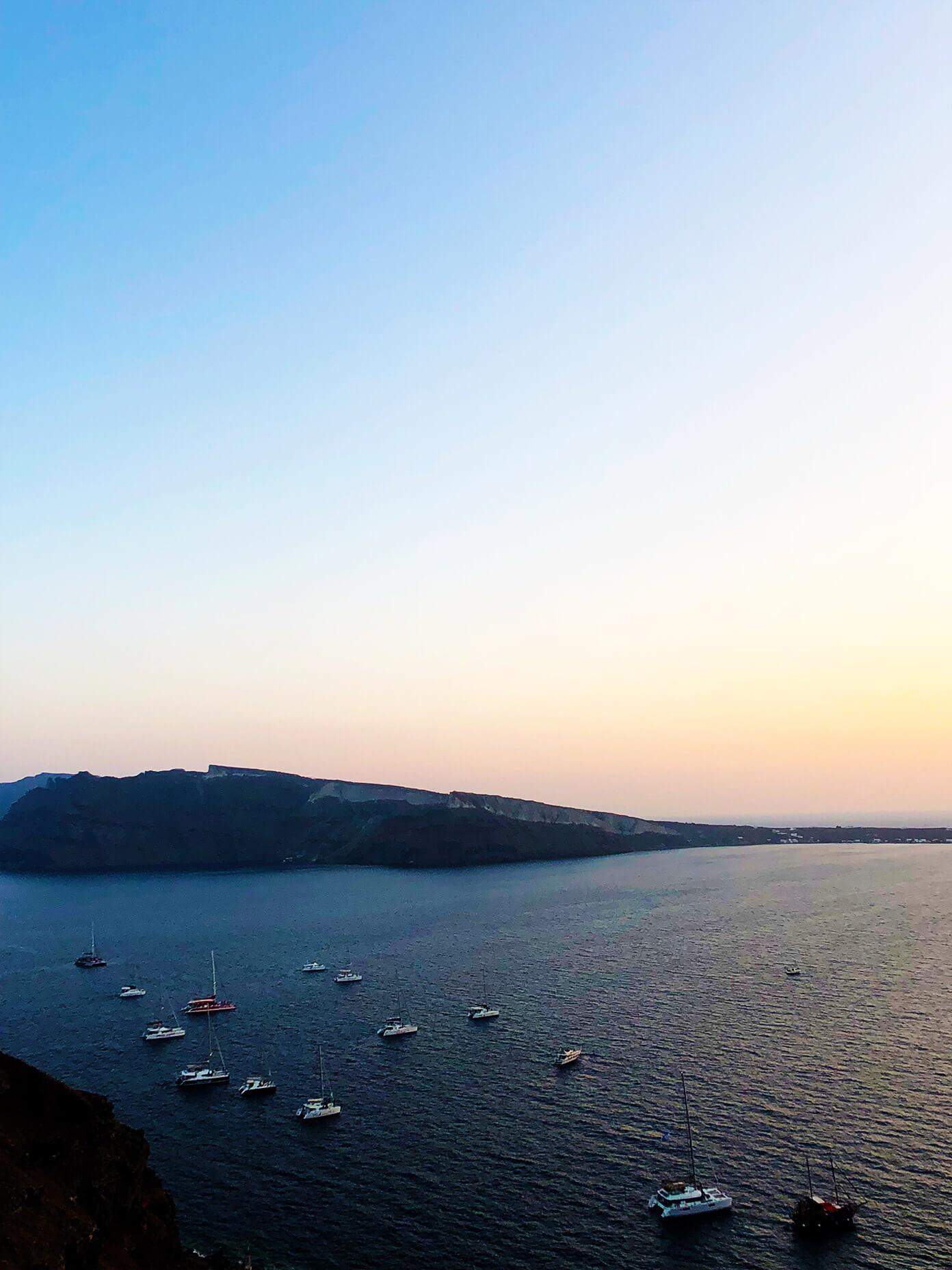 Ammoudi Bay in Oia Santorini Greece