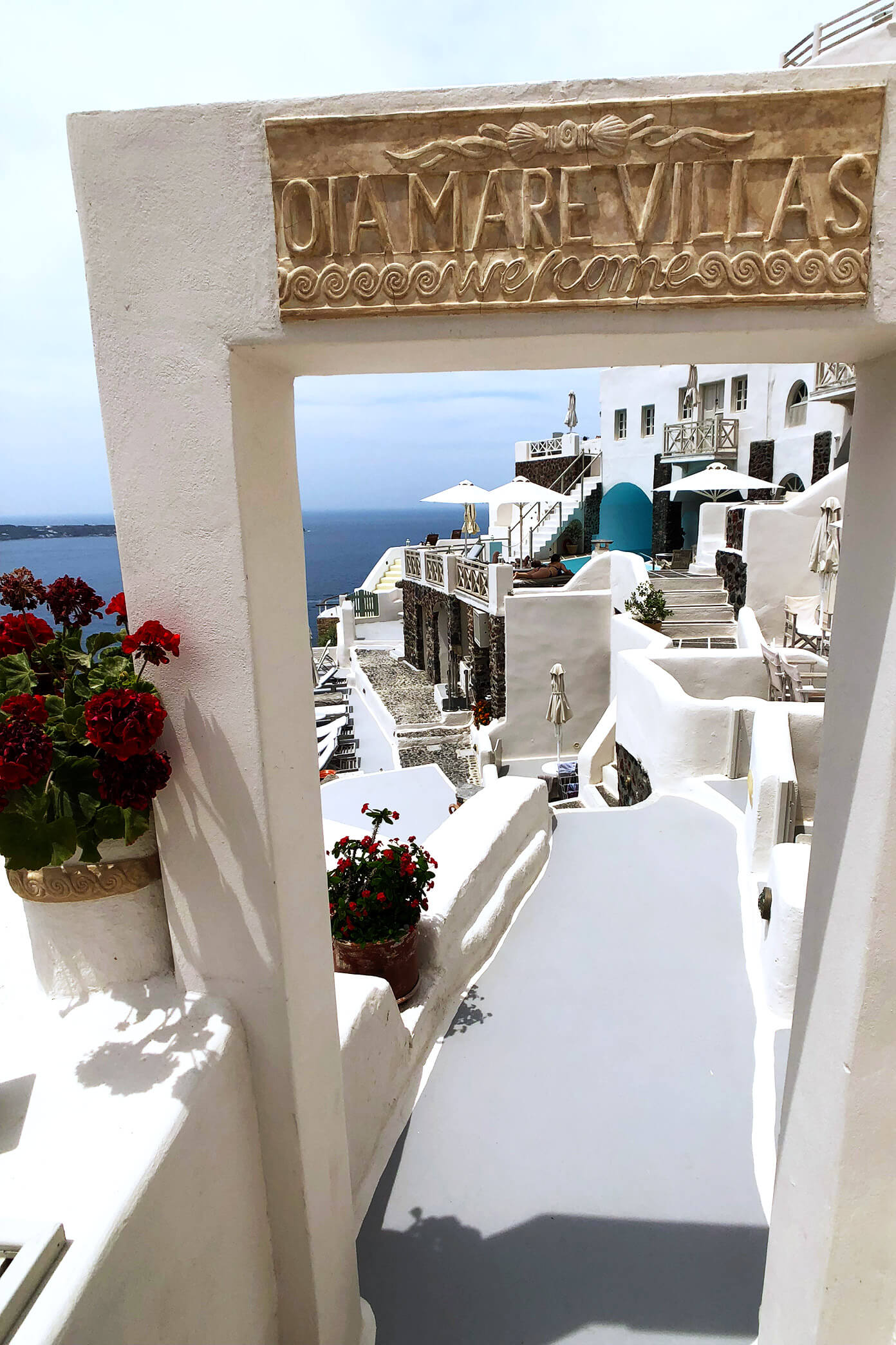 Oia Mare Villas in Santorini, Greece