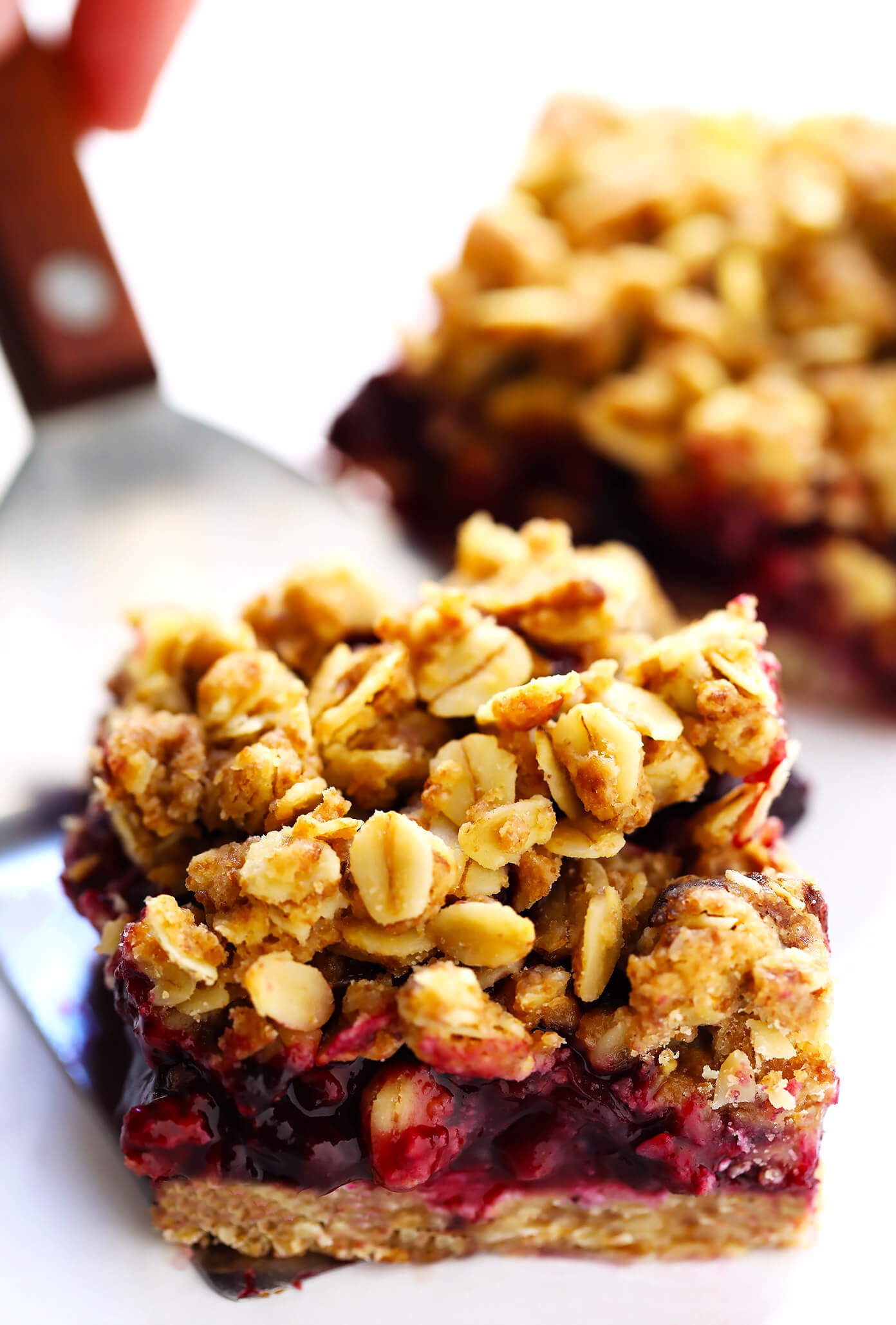 Blueberry Bars Recipe with Oatmeal Crumble