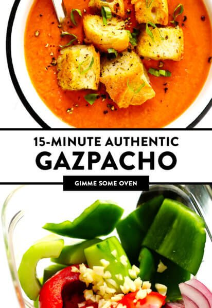 Authentic Gazpacho Recipe