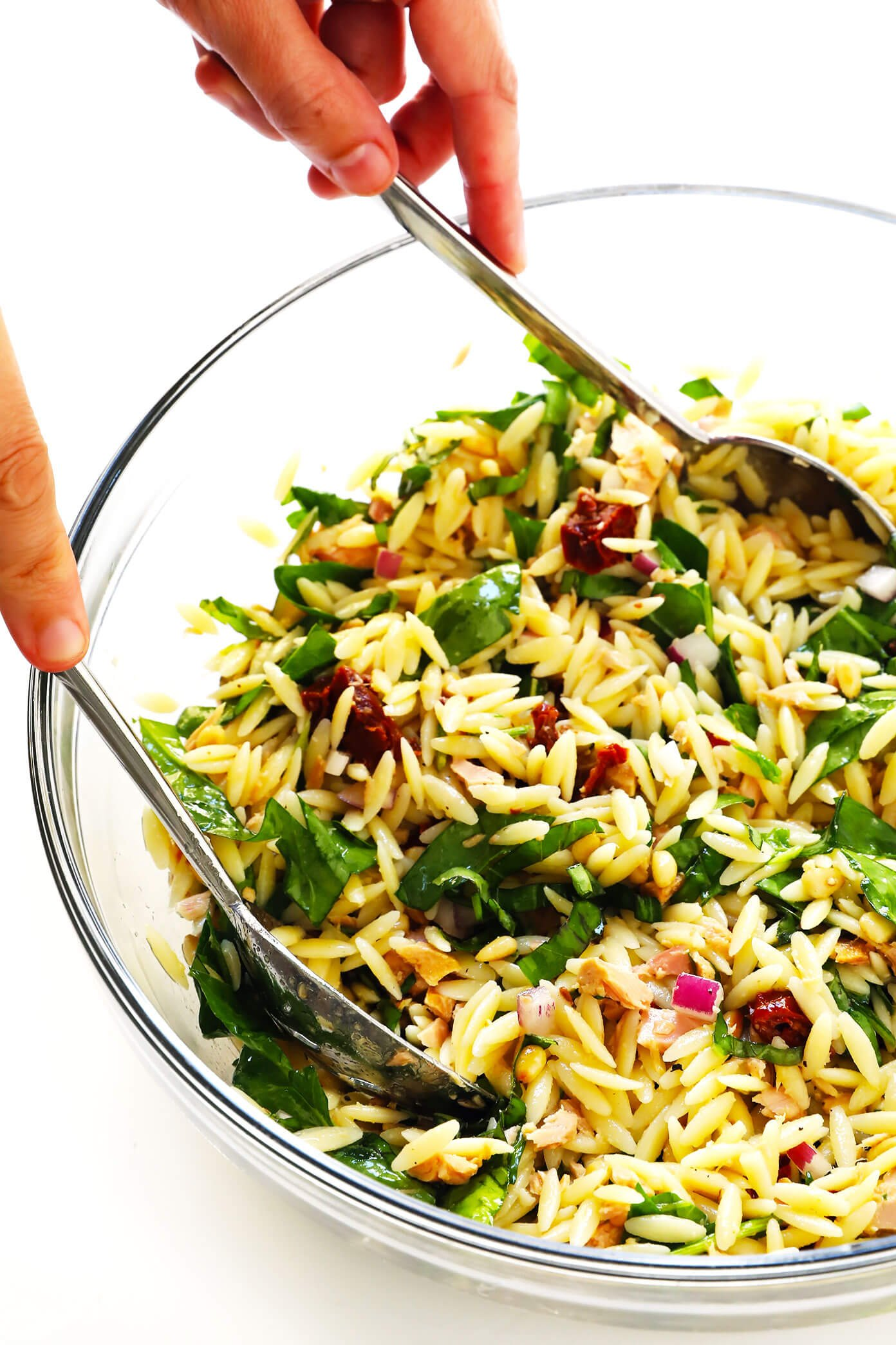How To Make Italian Orzo Tuna Salad