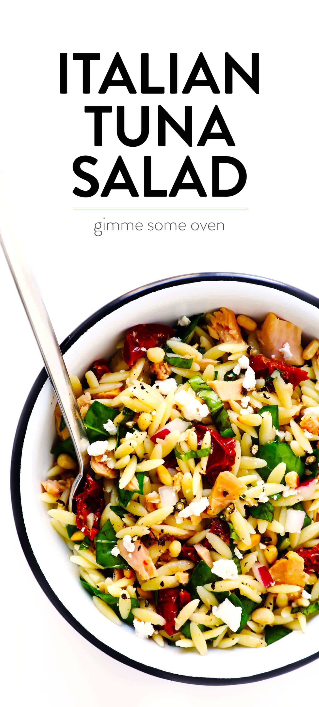 Italian Pasta Salad Recipe with Tuna