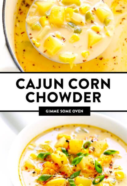 Cajun Corn Chowder Recipe