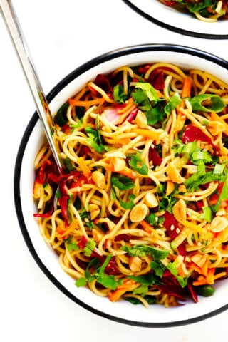 Easy Cold Sesame Peanut Noodles with the BEST Peanut Sauce Recipe