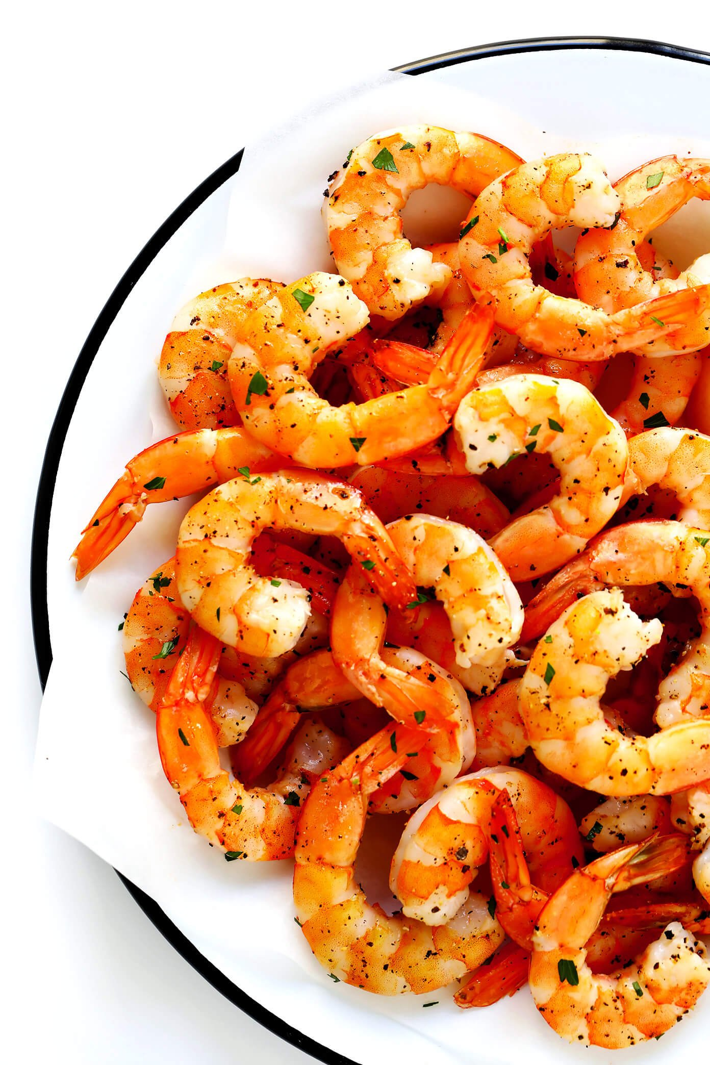 Toss the shrimp in a bowl with 2..
