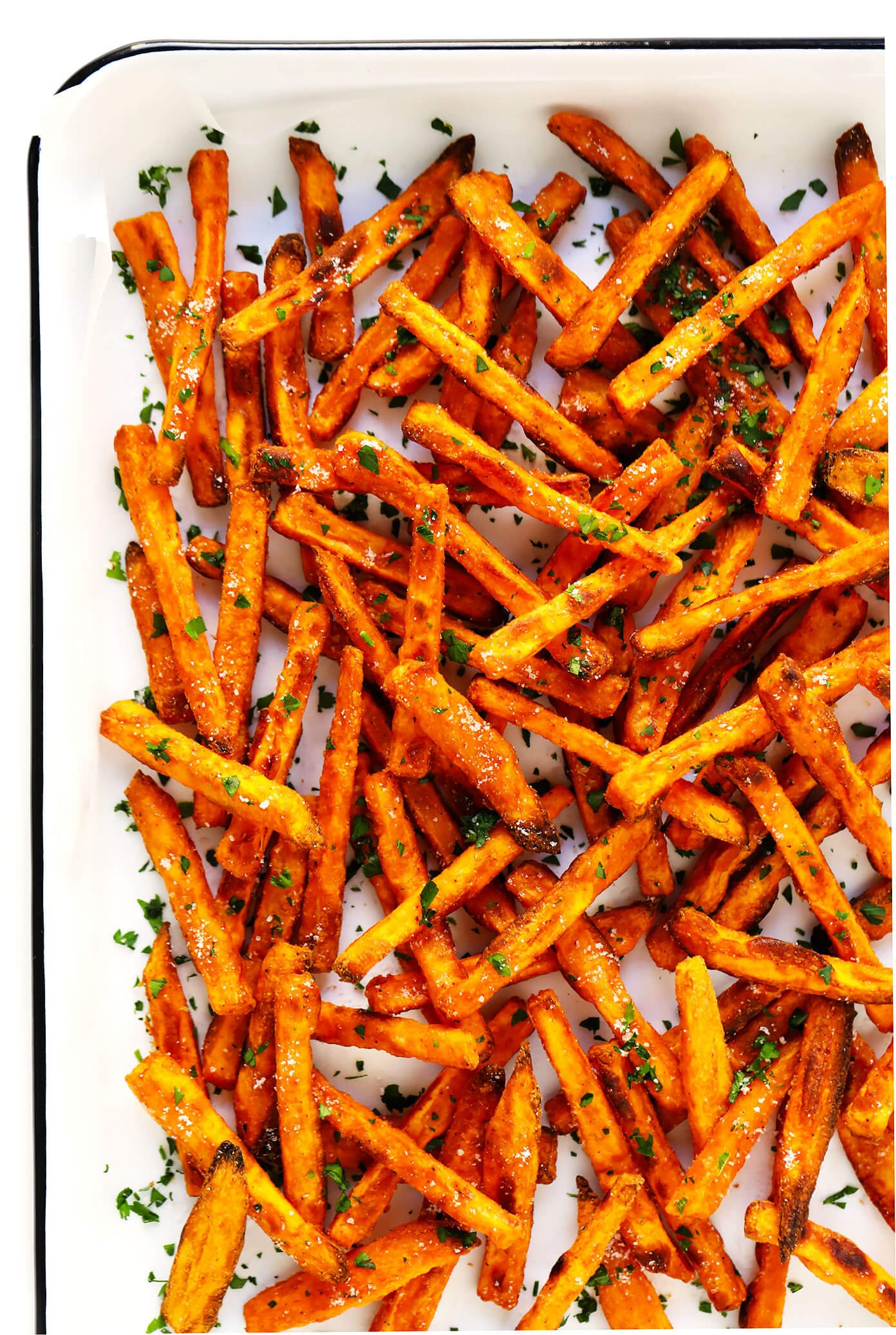 The BEST Sweet Potato Fries Recipe! | Gimme Some Oven