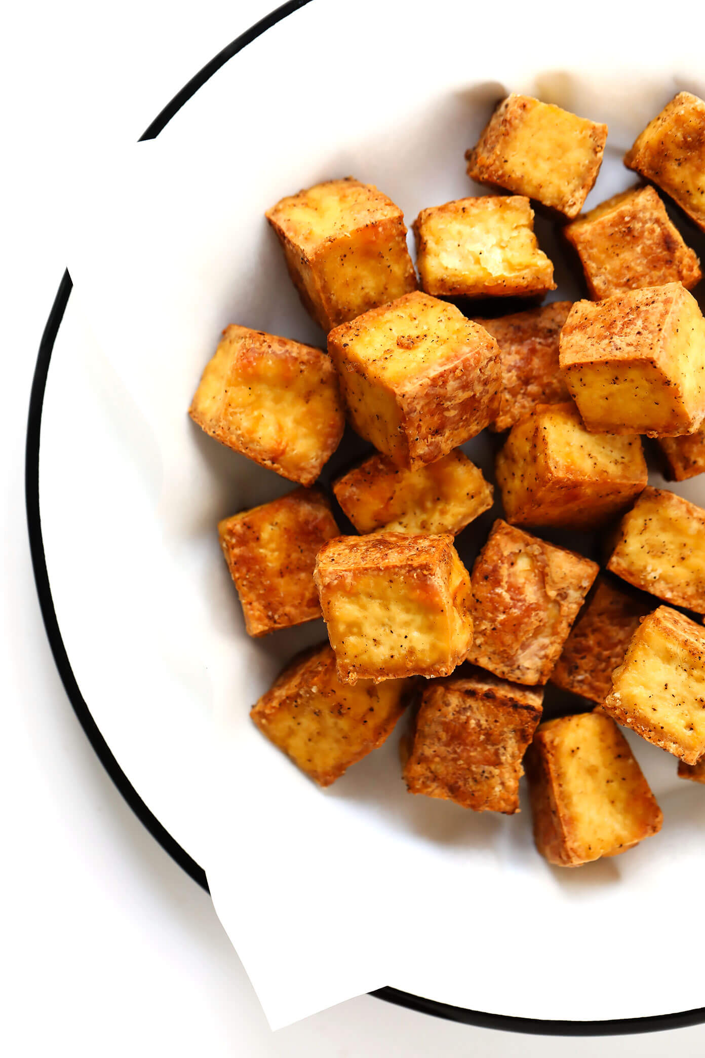 Easy Crispy Baked Tofu Recipe | Gimme Some Oven