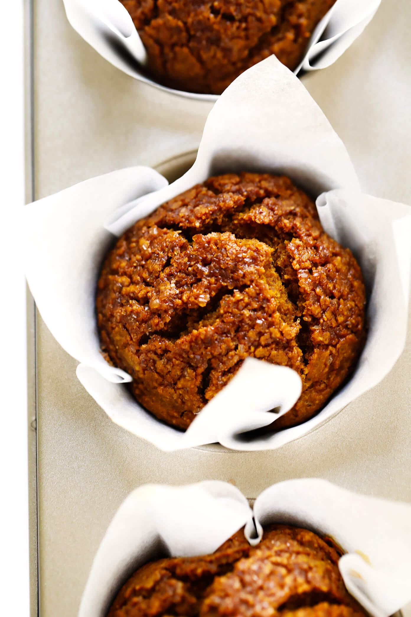 Healthy Pumpkin Muffins Recipe with Maple Syrup