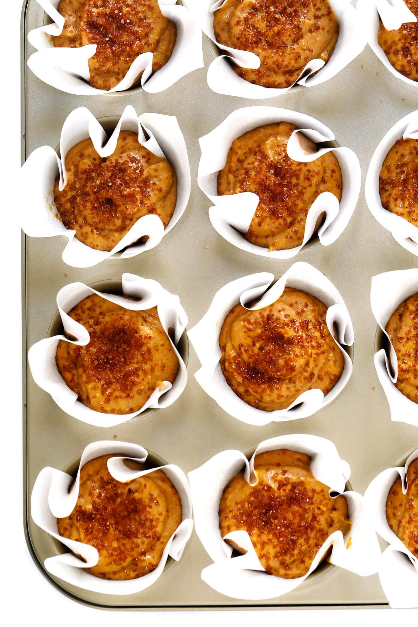Healthy Pumpkin Muffins Ingredients