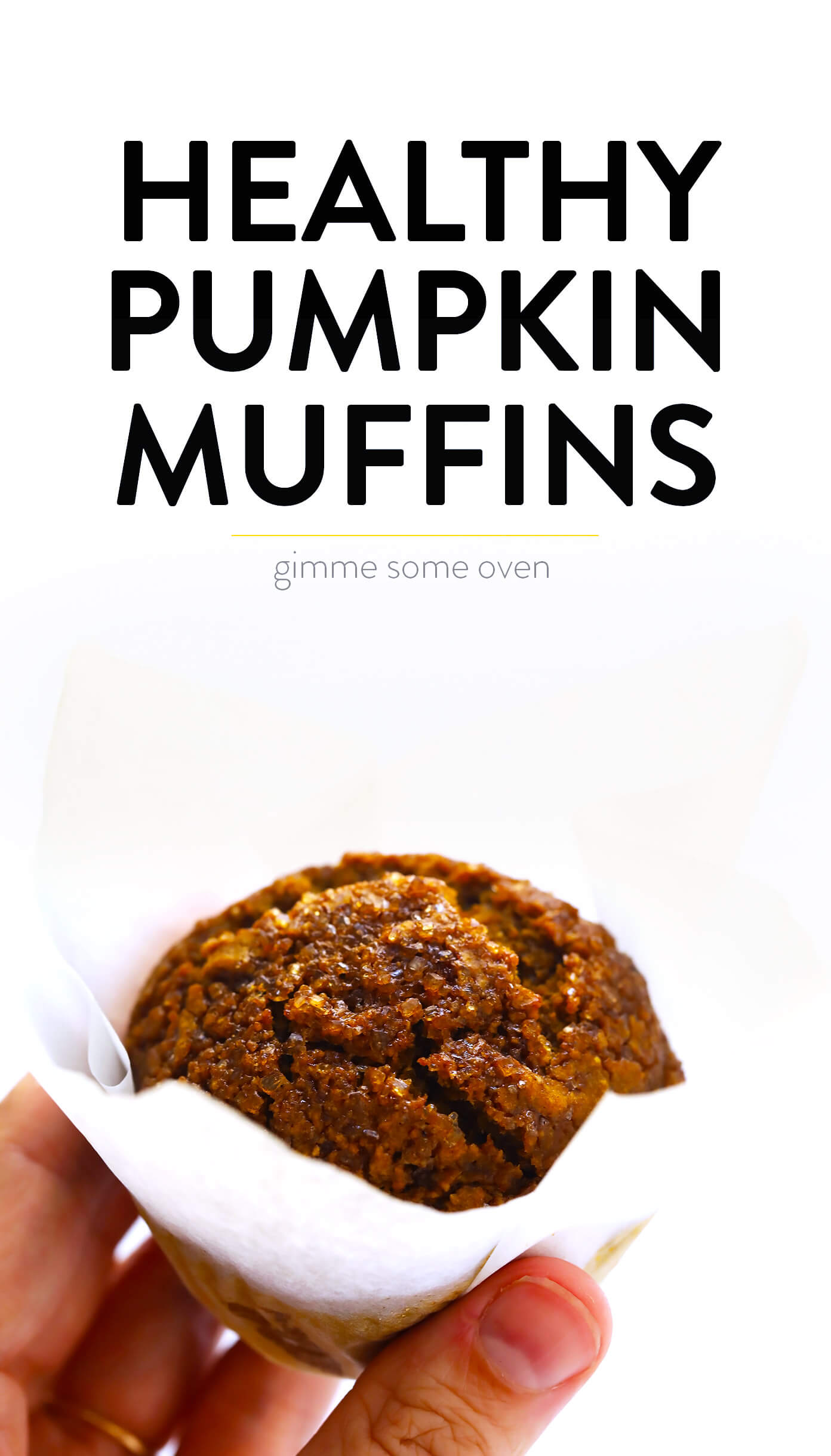 Easy Healthy Pumpkin Muffins | Gimme Some Oven