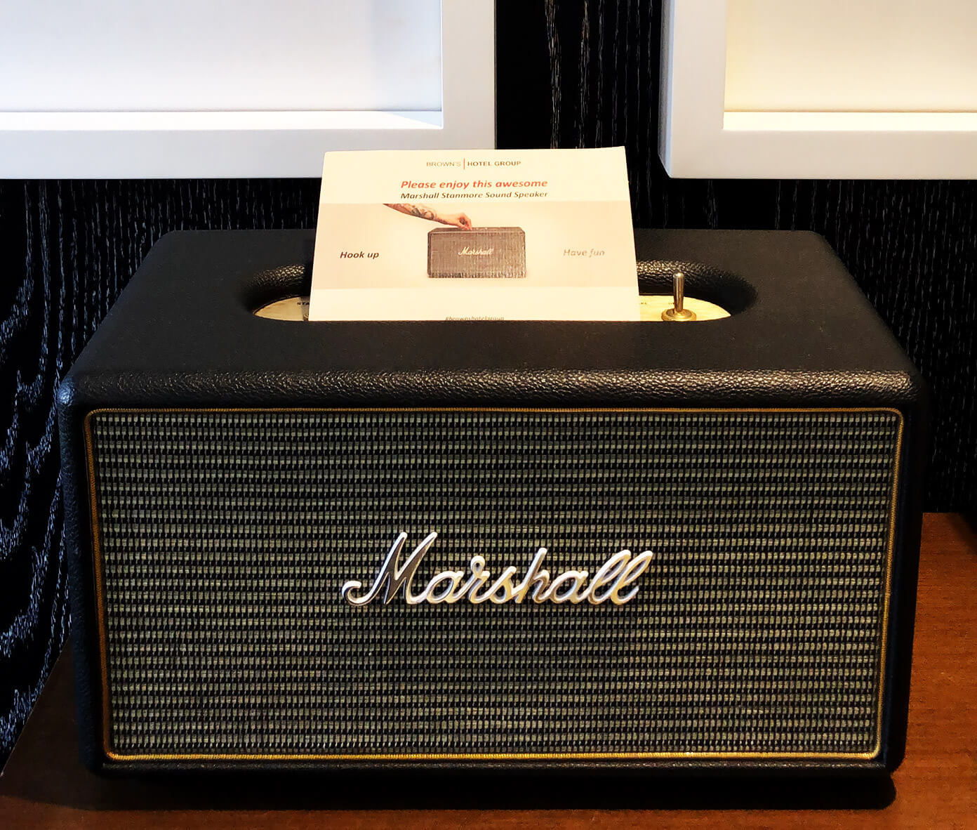 Bluetooth Marshall Amp