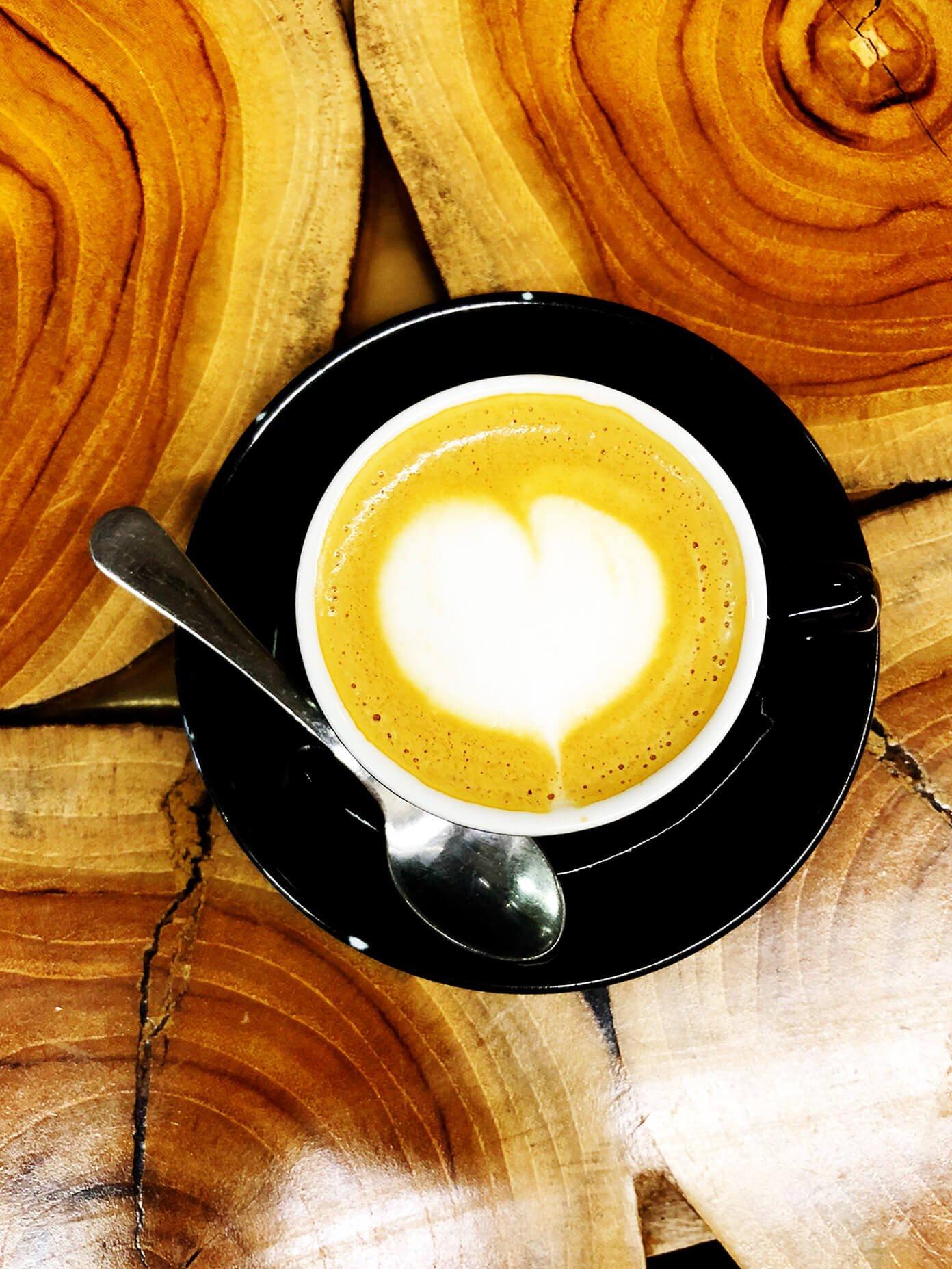 Latte in Lisbon