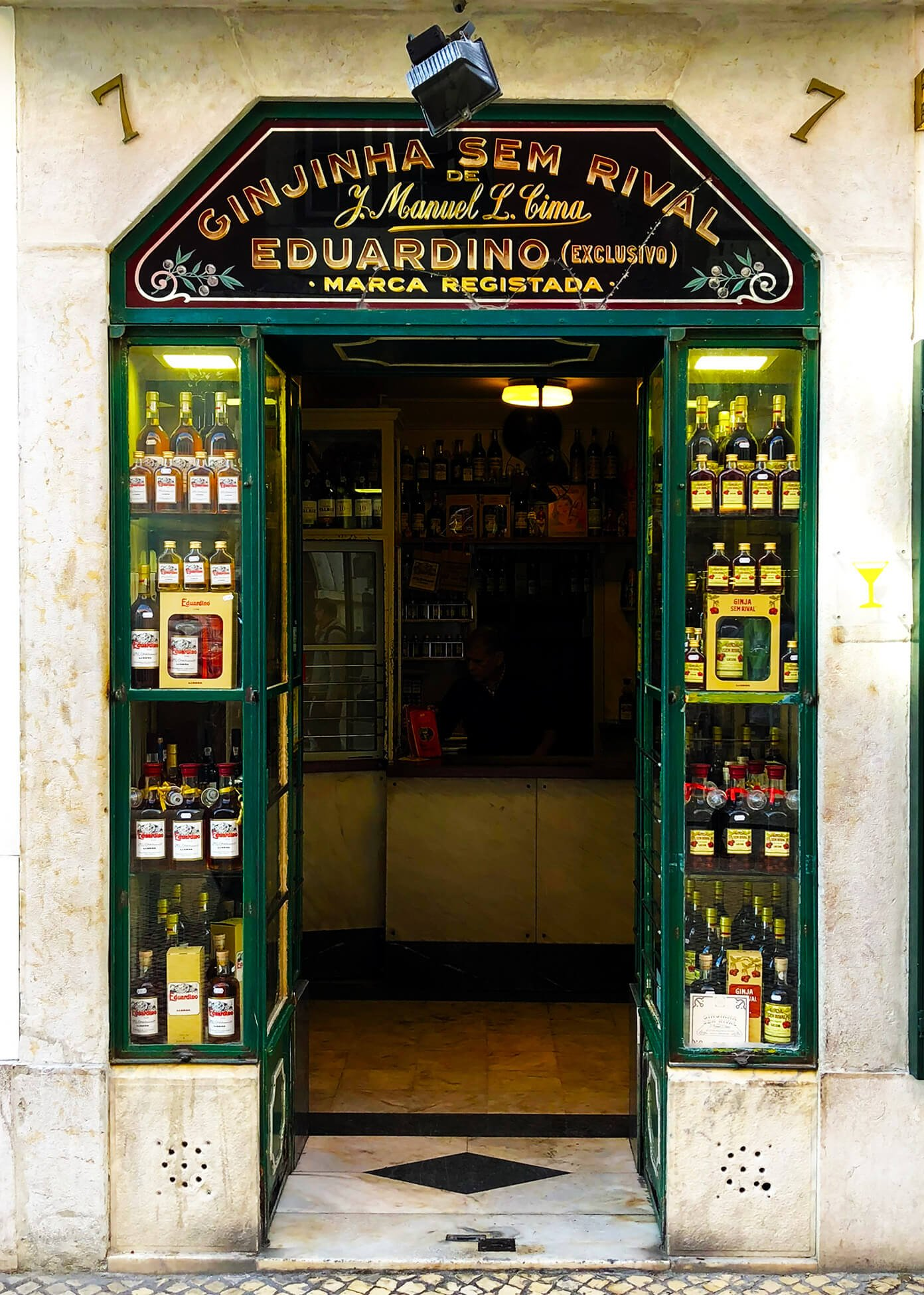 Ginjinha Sem Rival in Lisbon