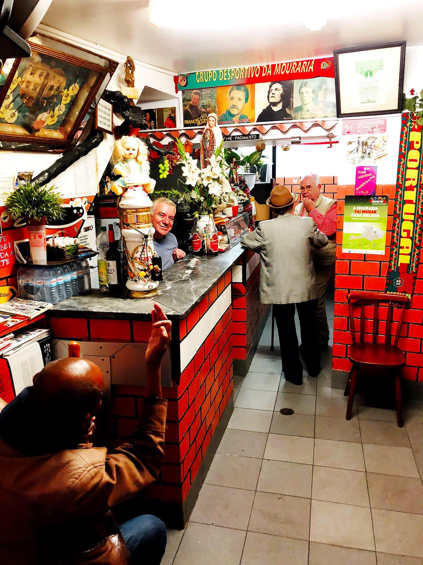 Bar in Lisbon