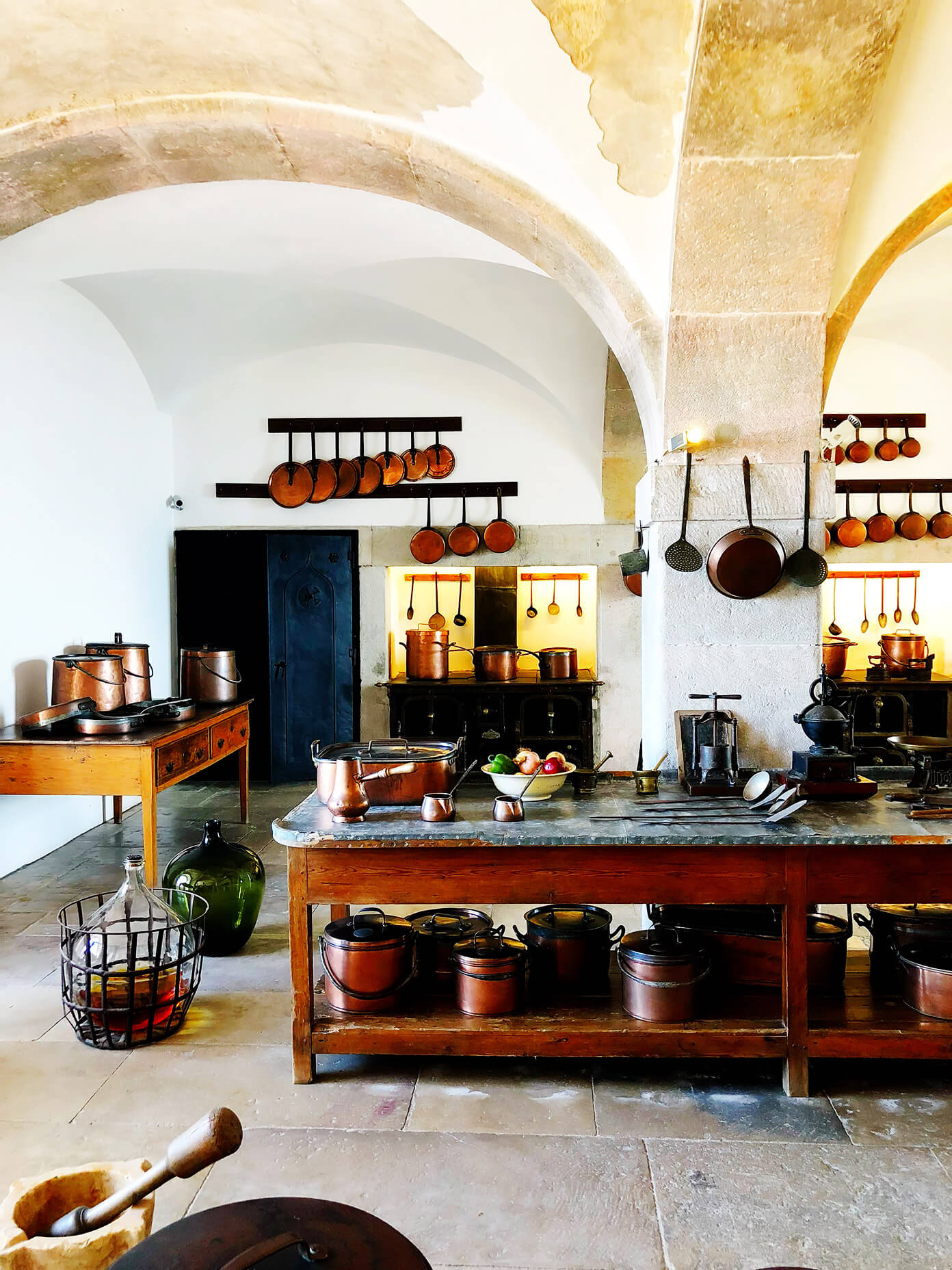 Pena Palace Kitchen in Portugal