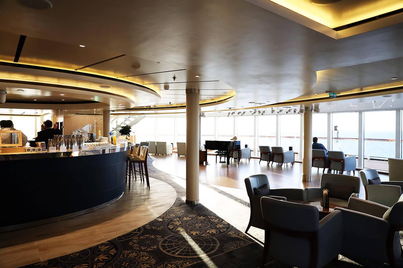 Explorer's Lounge   Viking Star   Viking Ocean Cruise