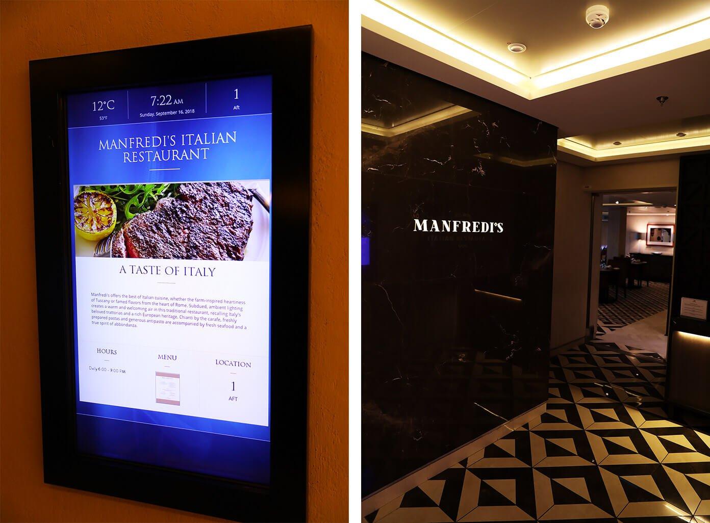 Manfredi's Italian Restaurant | Viking Star | Viking Ocean Cruise