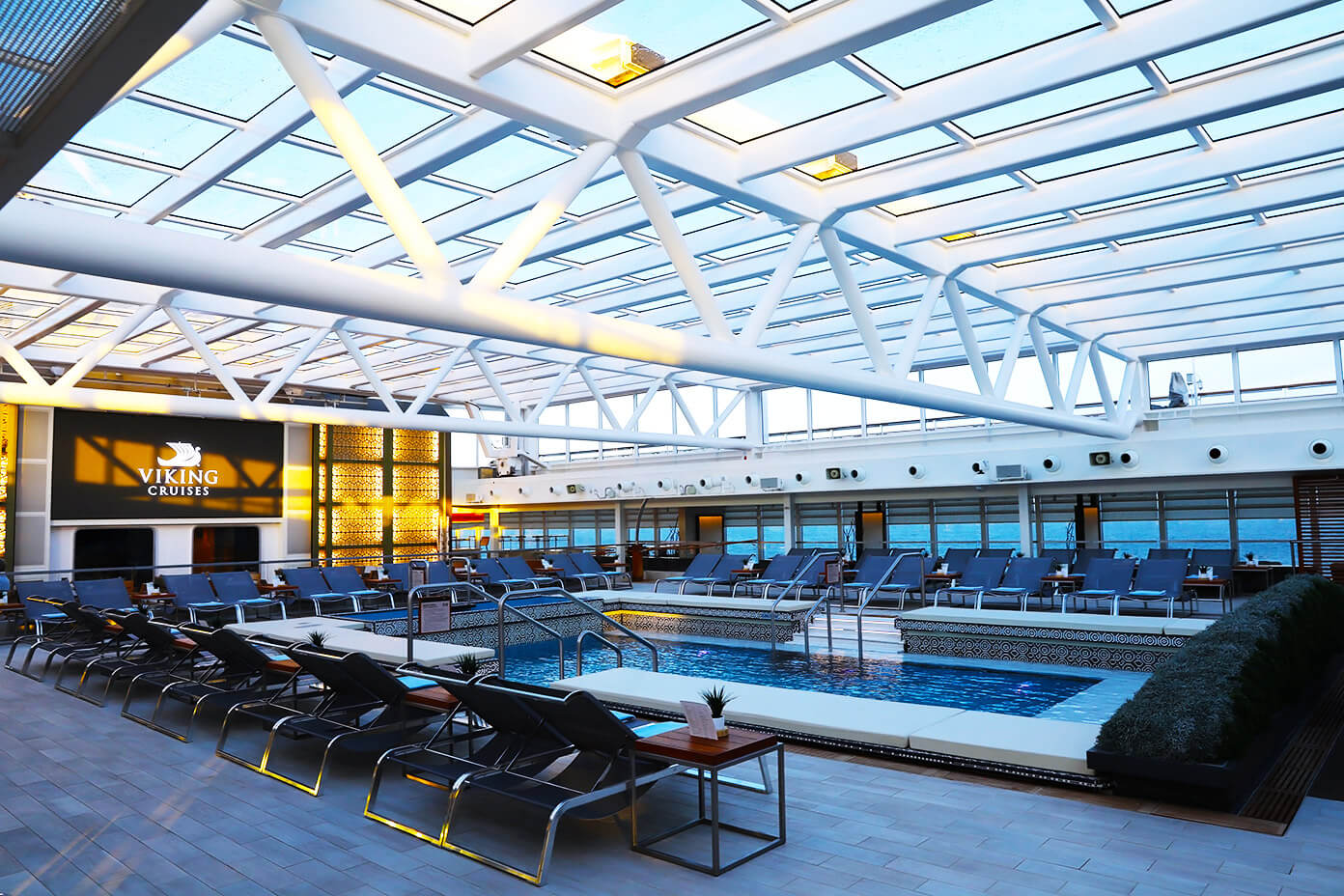Pool and Hot Tub | Viking Star | Viking Ocean Cruise