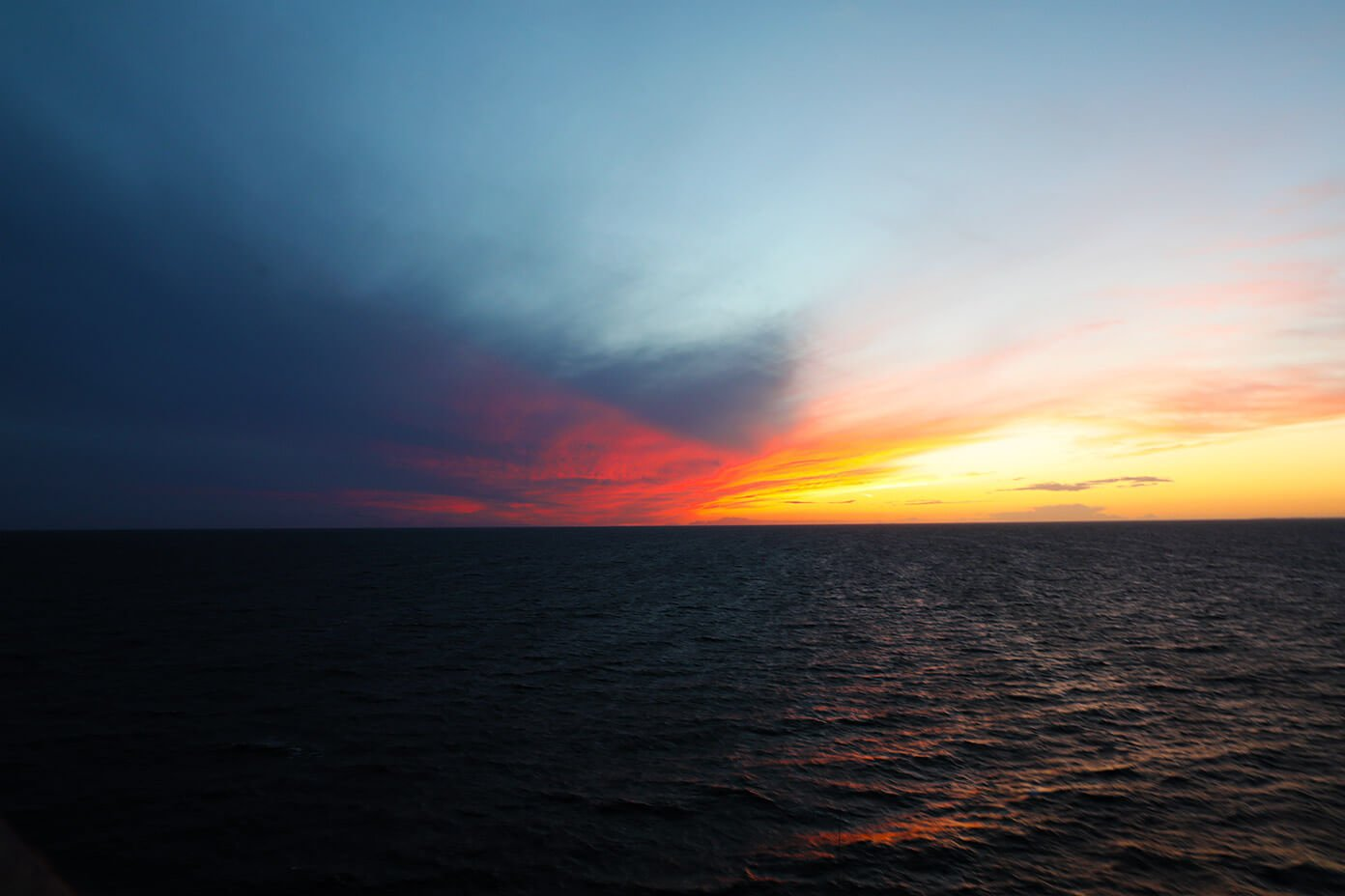 Viking Ocean Cruise Sunset