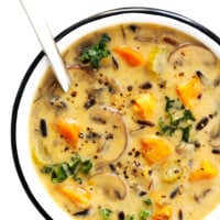 Cozy Autumn Wild Rice Soup Recipe