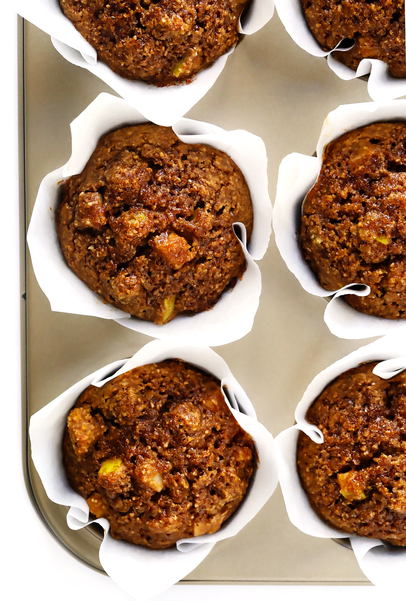 The BEST Healthy Apple Muffins Recipe