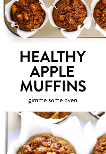 Healthy Apple Muffins Recipe