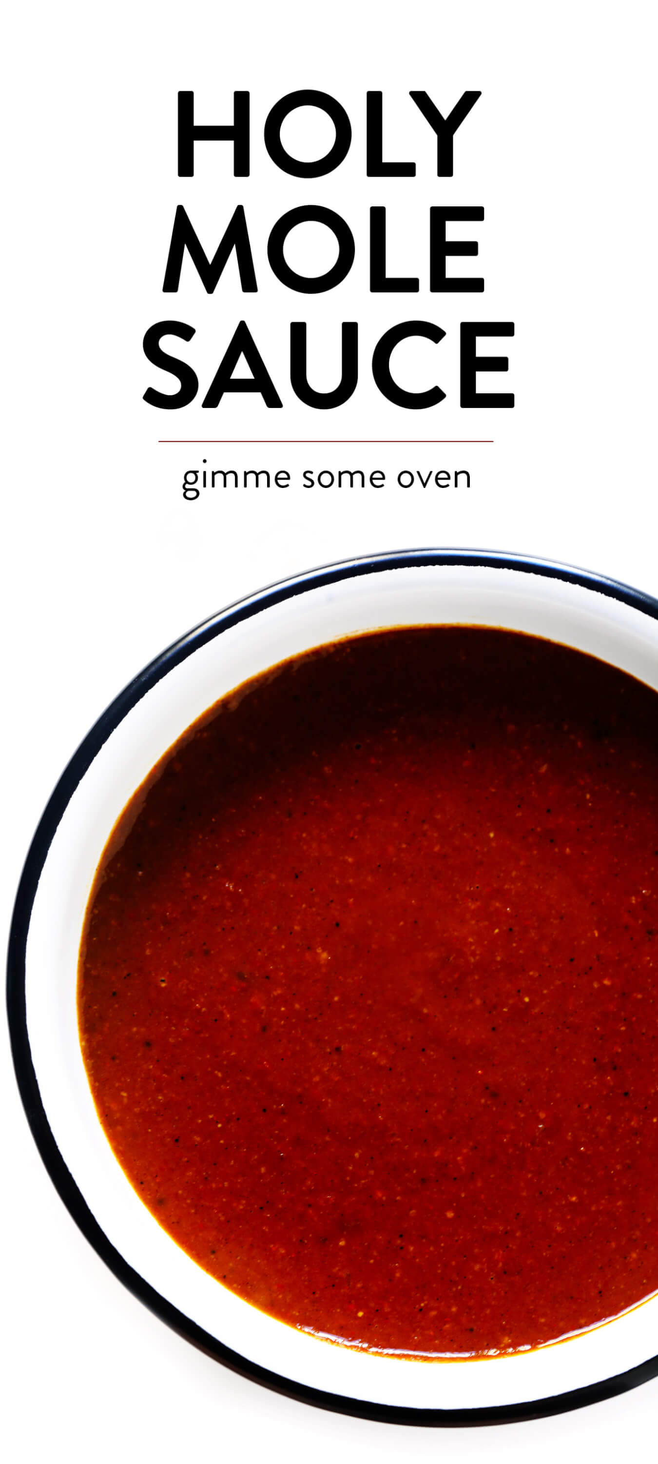20-Minute Holy Moly Sauce Recipe | Gimme Some Oven
